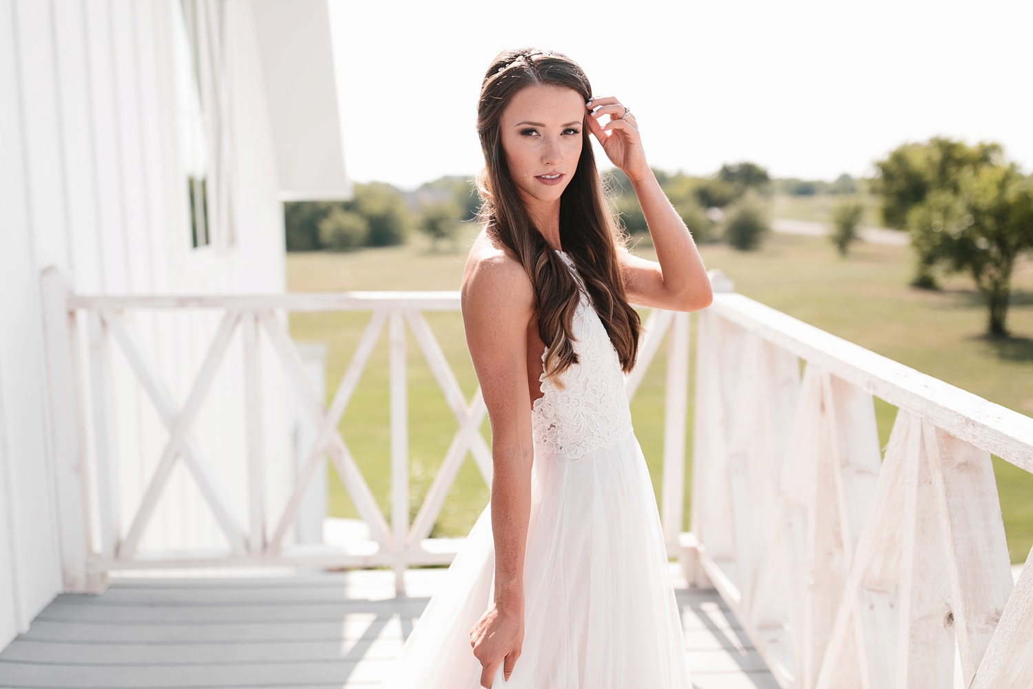 an all white minimialist style bridal session with burgundy and blush accents at The Nest at Ruth Farms in Ponder, Texas by North Texas Wedding Photographer Rachel Meagan Photography073