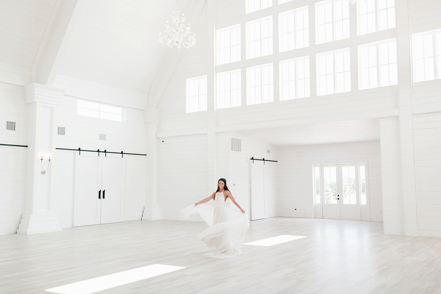 an all white minimialist style bridal session with burgundy and blush accents at The Nest at Ruth Farms in Ponder, Texas by North Texas Wedding Photographer Rachel Meagan Photography116