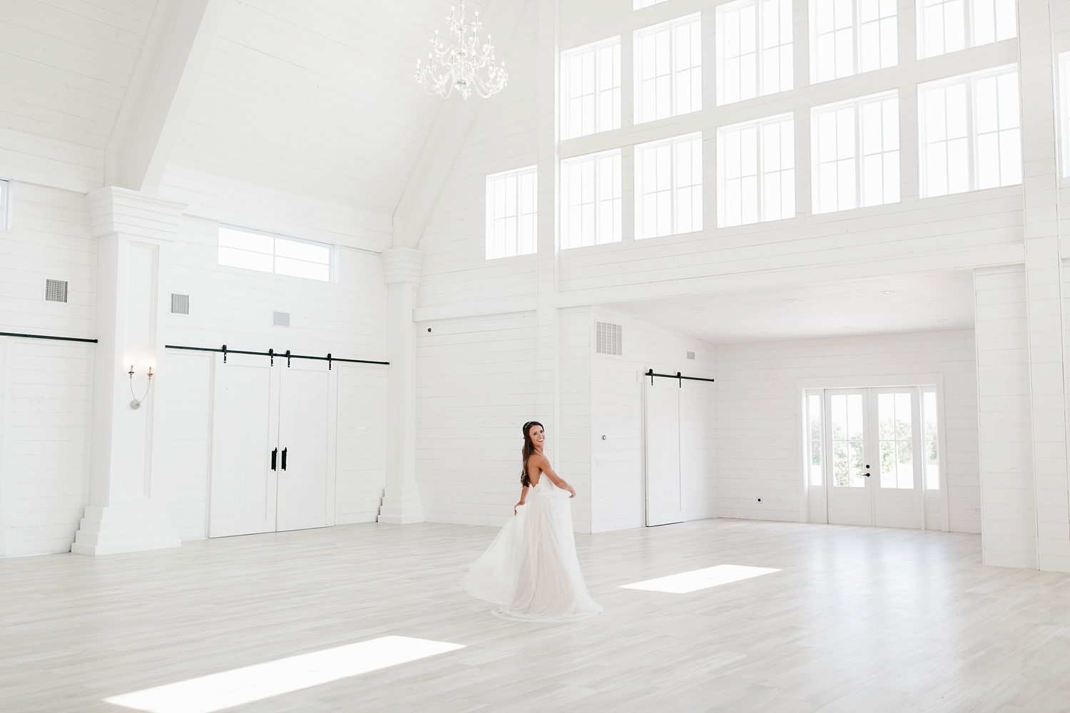 an all white minimialist style bridal session with burgundy and blush accents at The Nest at Ruth Farms in Ponder, Texas by North Texas Wedding Photographer Rachel Meagan Photography119