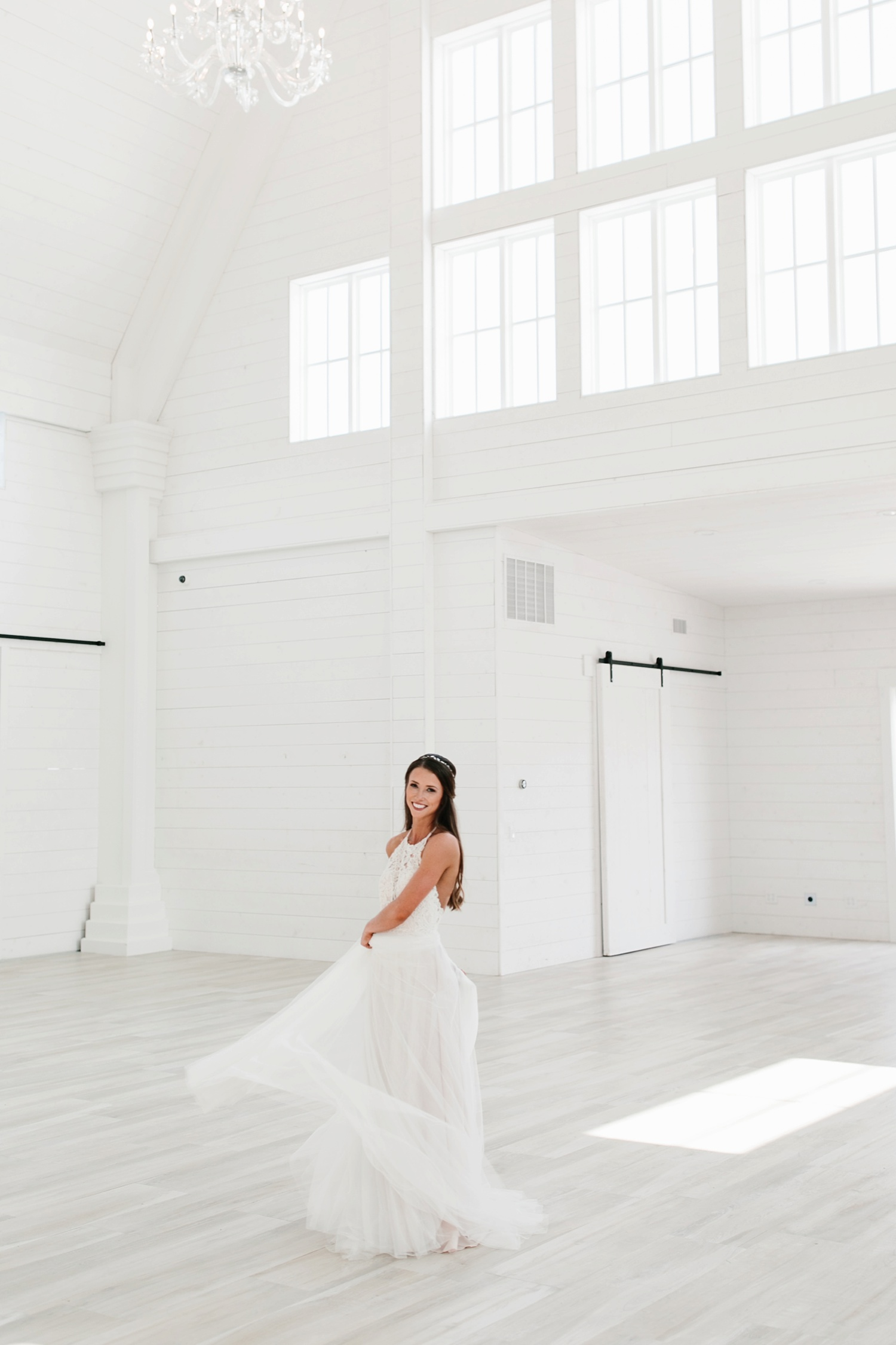 an all white minimialist style bridal session with burgundy and blush accents at The Nest at Ruth Farms in Ponder, Texas by North Texas Wedding Photographer Rachel Meagan Photography120