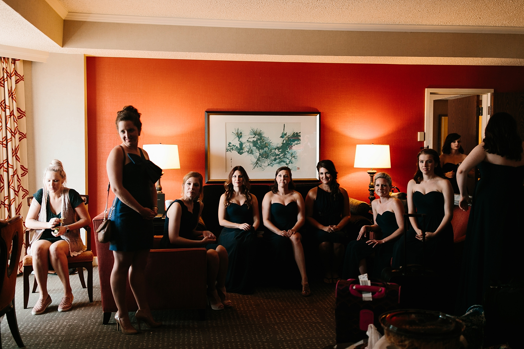 Emily + Caleb _ an elegant, intentional, industrial style wedding with navy + gold accents at 6500 in Dallas, TX by North Texas Wedding Photographer Rachel Meagan Photography _ 018