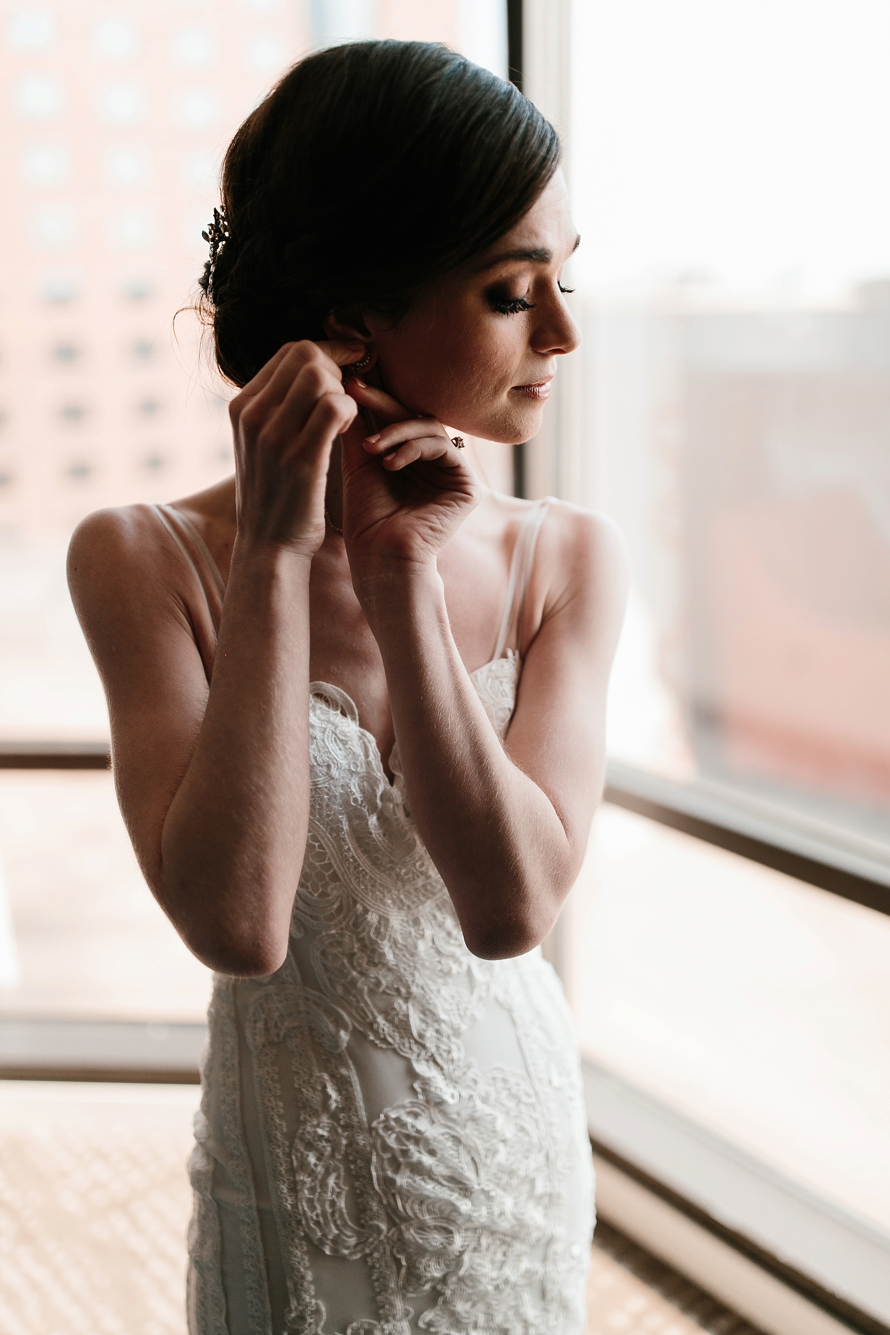 Emily + Caleb _ an elegant, intentional, industrial style wedding with navy + gold accents at 6500 in Dallas, TX by North Texas Wedding Photographer Rachel Meagan Photography _ 043