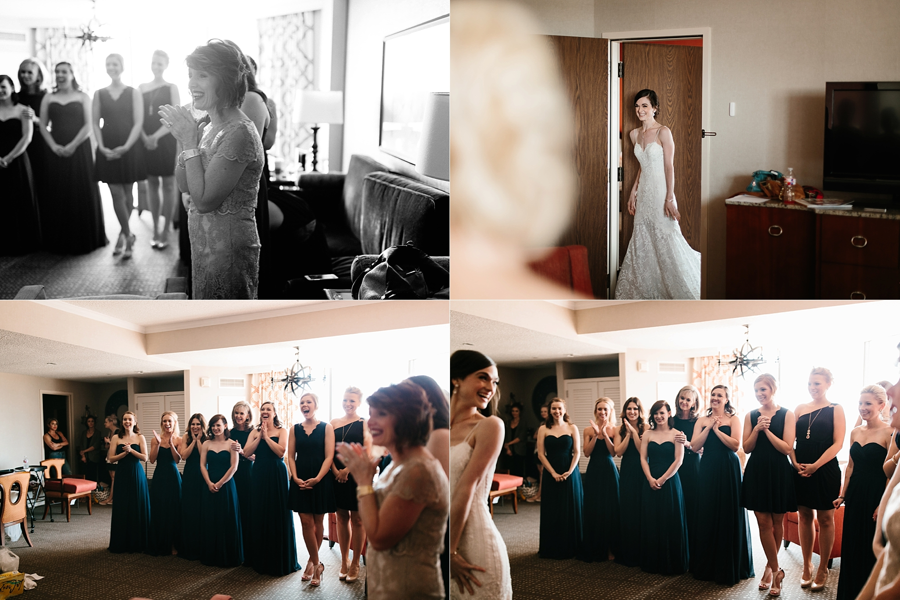 Emily + Caleb _ an elegant, intentional, industrial style wedding with navy + gold accents at 6500 in Dallas, TX by North Texas Wedding Photographer Rachel Meagan Photography _ 059