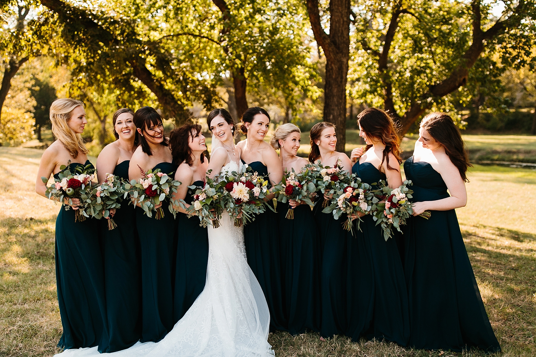 Emily + Caleb _ an elegant, intentional, industrial style wedding with navy + gold accents at 6500 in Dallas, TX by North Texas Wedding Photographer Rachel Meagan Photography _ 063
