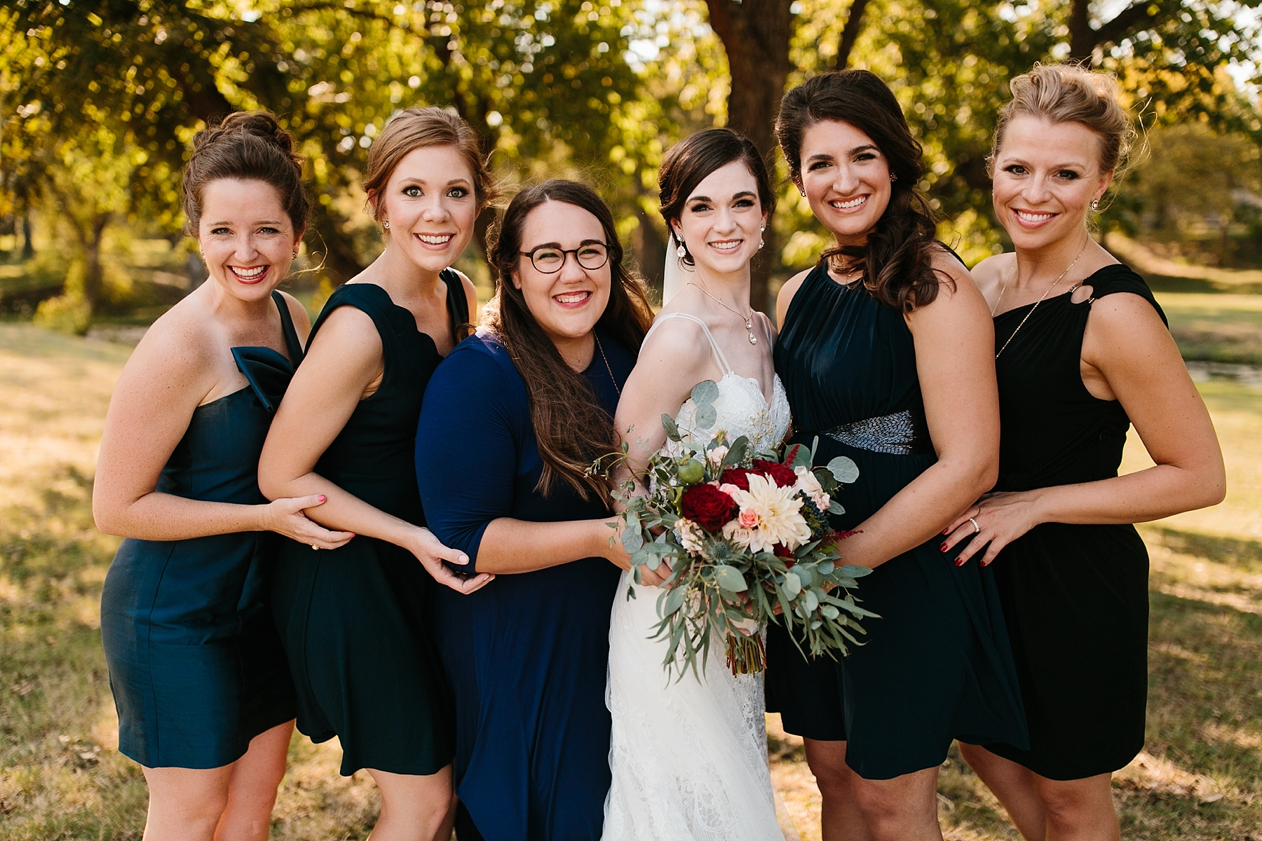 Emily + Caleb _ an elegant, intentional, industrial style wedding with navy + gold accents at 6500 in Dallas, TX by North Texas Wedding Photographer Rachel Meagan Photography _ 067