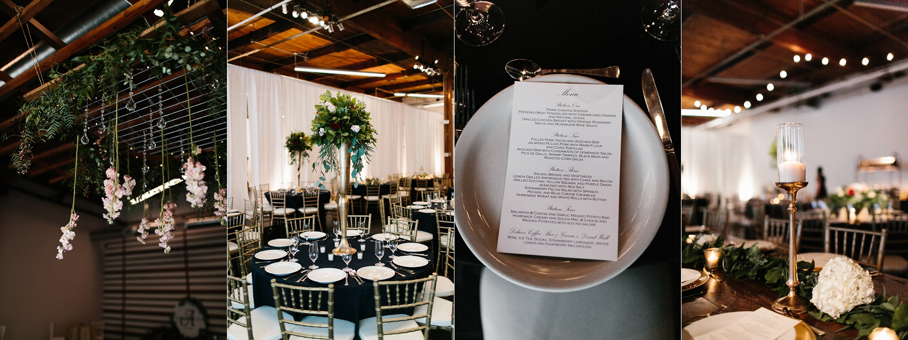 Emily + Caleb _ an elegant, intentional, industrial style wedding with navy + gold accents at 6500 in Dallas, TX by North Texas Wedding Photographer Rachel Meagan Photography _ 071