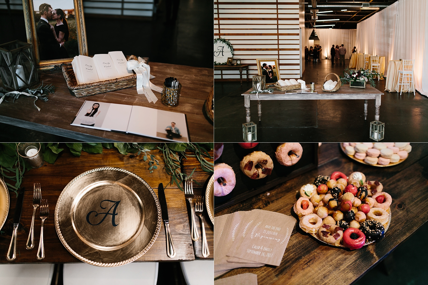 Emily + Caleb _ an elegant, intentional, industrial style wedding with navy + gold accents at 6500 in Dallas, TX by North Texas Wedding Photographer Rachel Meagan Photography _ 072