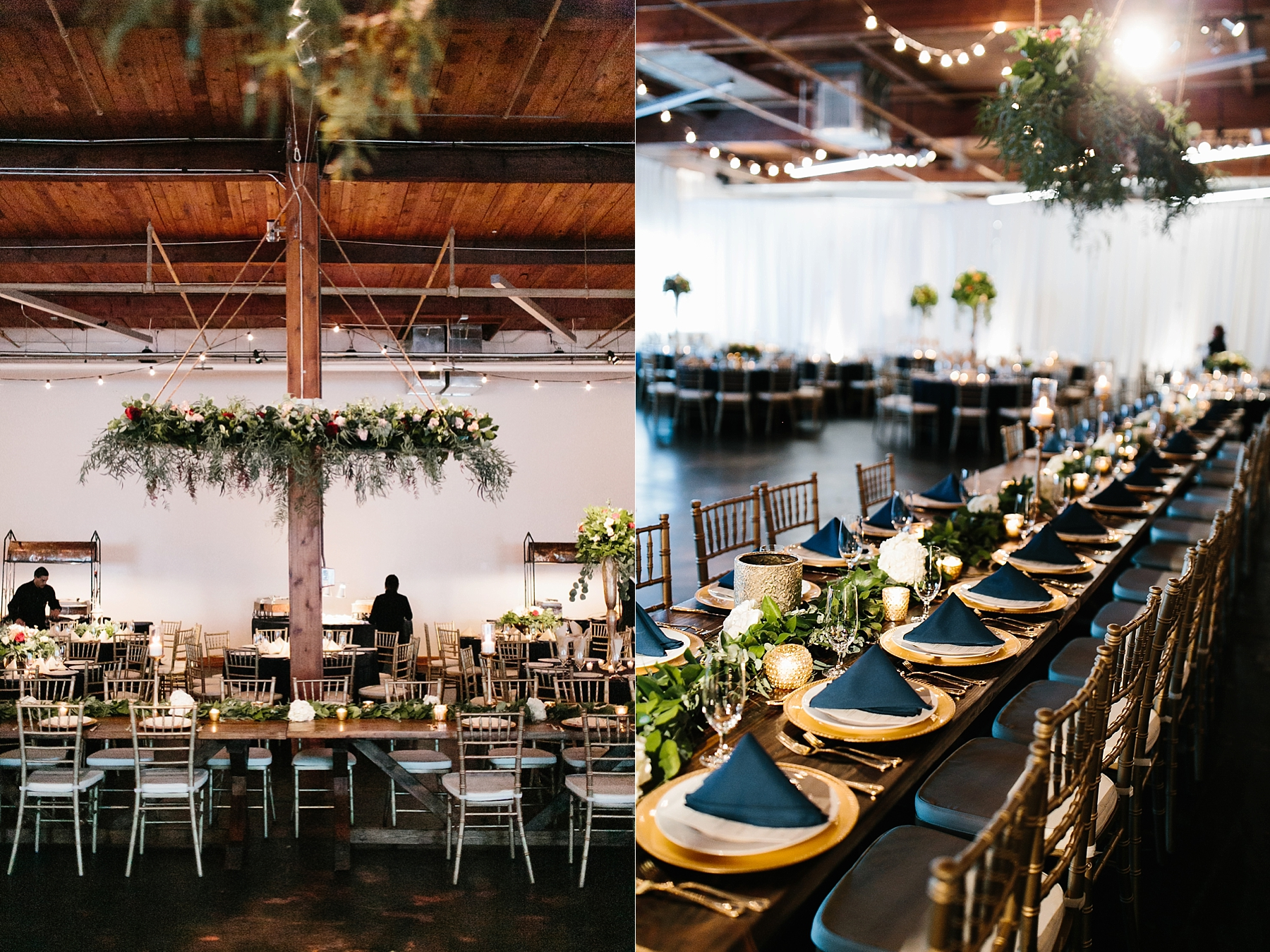 Emily + Caleb _ an elegant, intentional, industrial style wedding with navy + gold accents at 6500 in Dallas, TX by North Texas Wedding Photographer Rachel Meagan Photography _ 073