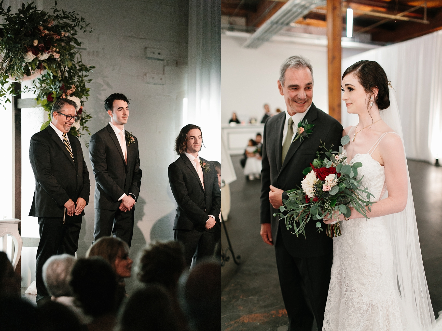 Emily + Caleb _ an elegant, intentional, industrial style wedding with navy + gold accents at 6500 in Dallas, TX by North Texas Wedding Photographer Rachel Meagan Photography _ 075