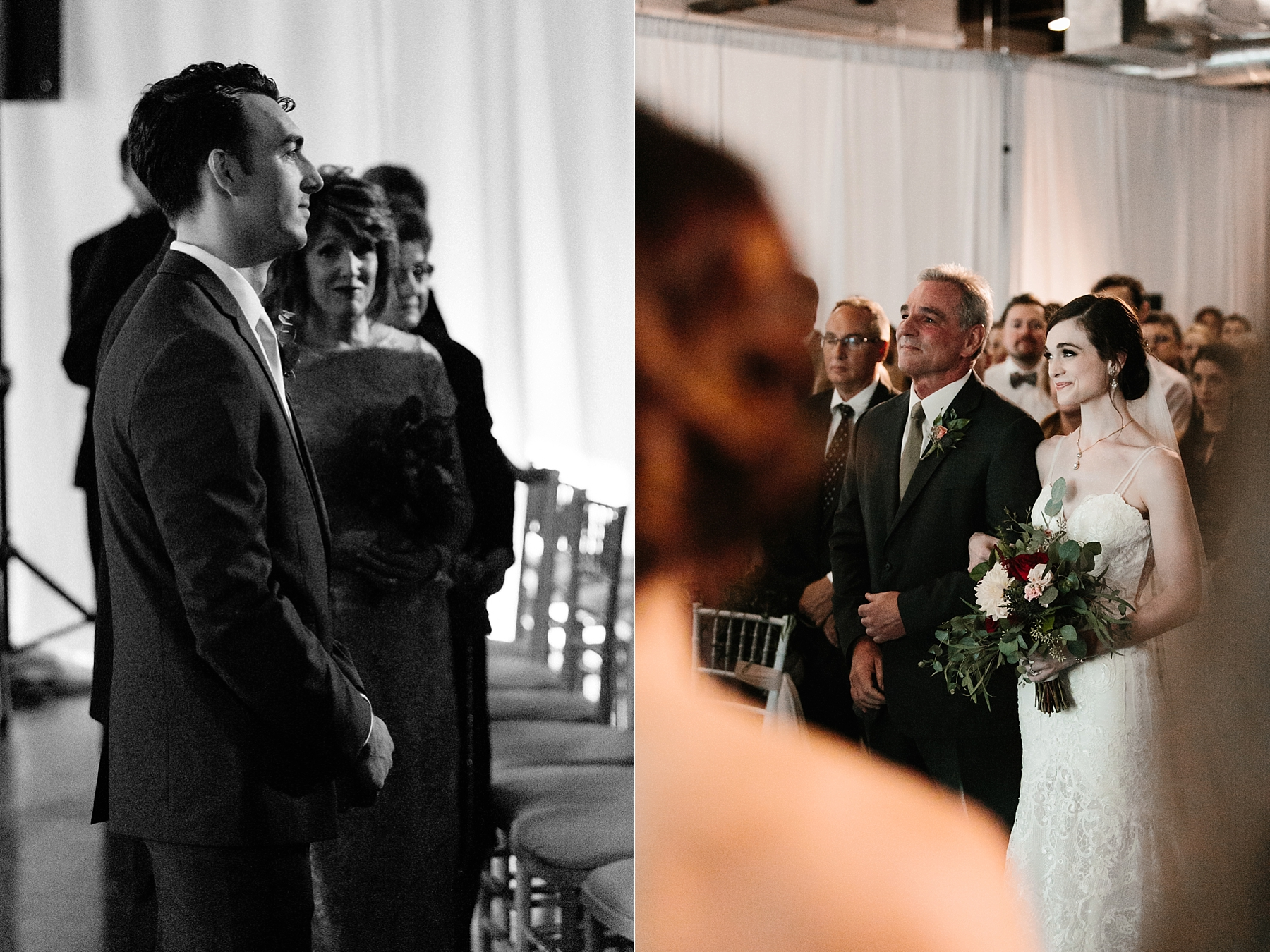 Emily + Caleb _ an elegant, intentional, industrial style wedding with navy + gold accents at 6500 in Dallas, TX by North Texas Wedding Photographer Rachel Meagan Photography _ 077