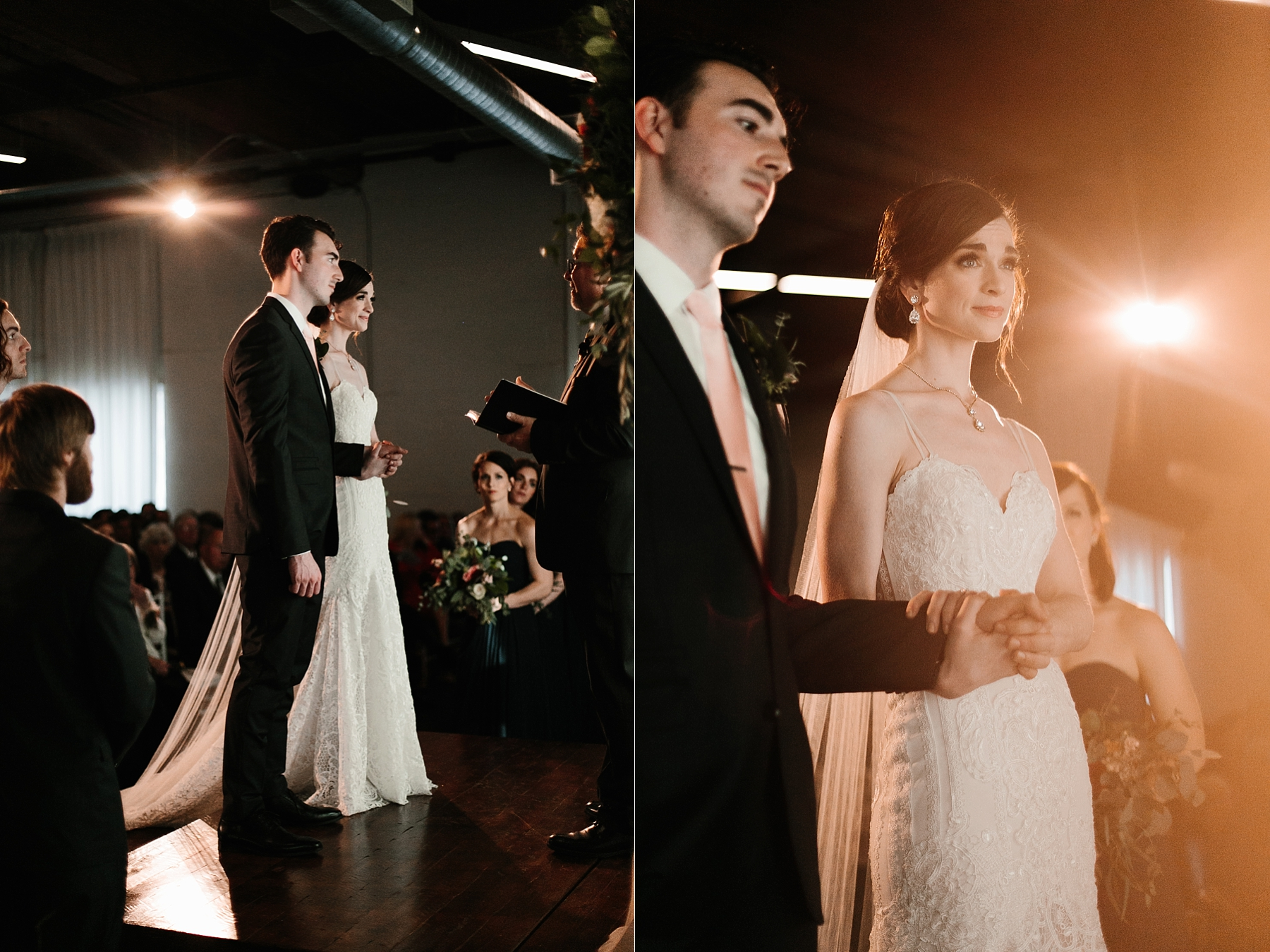 Emily + Caleb _ an elegant, intentional, industrial style wedding with navy + gold accents at 6500 in Dallas, TX by North Texas Wedding Photographer Rachel Meagan Photography _ 083