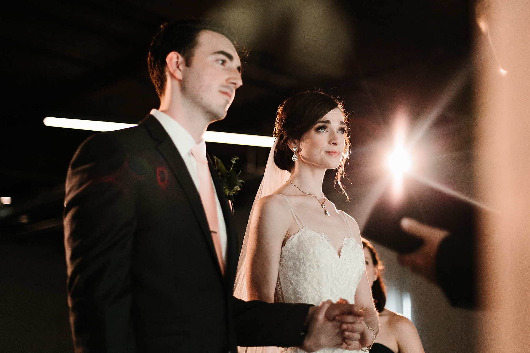 Emily + Caleb _ an elegant, intentional, industrial style wedding with navy + gold accents at 6500 in Dallas, TX by North Texas Wedding Photographer Rachel Meagan Photography _ 084