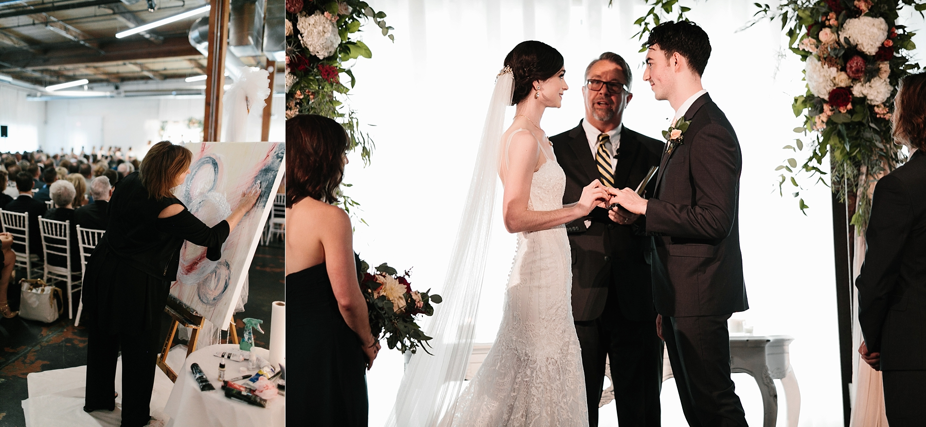 Emily + Caleb _ an elegant, intentional, industrial style wedding with navy + gold accents at 6500 in Dallas, TX by North Texas Wedding Photographer Rachel Meagan Photography _ 090