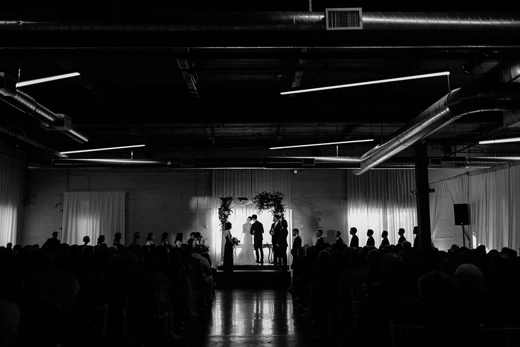 Emily + Caleb _ an elegant, intentional, industrial style wedding with navy + gold accents at 6500 in Dallas, TX by North Texas Wedding Photographer Rachel Meagan Photography _ 093