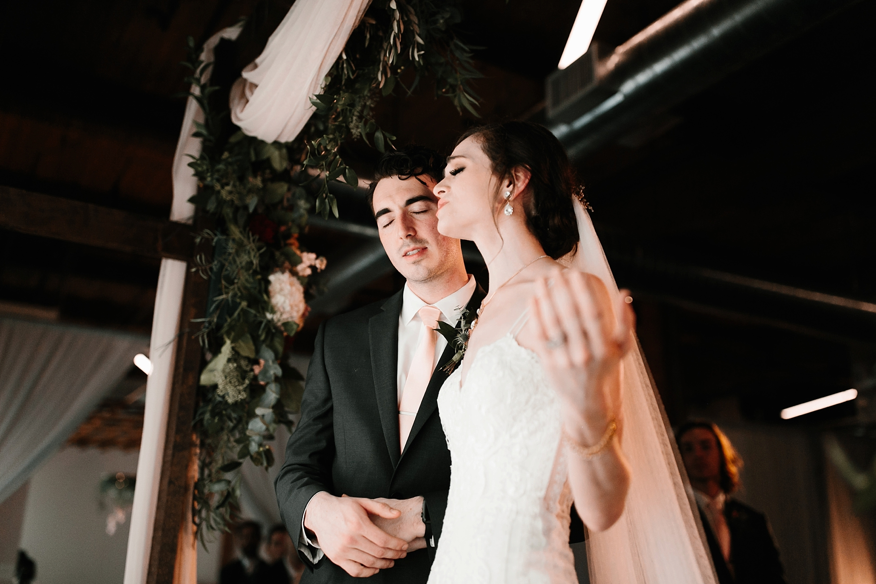 Emily + Caleb _ an elegant, intentional, industrial style wedding with navy + gold accents at 6500 in Dallas, TX by North Texas Wedding Photographer Rachel Meagan Photography _ 094