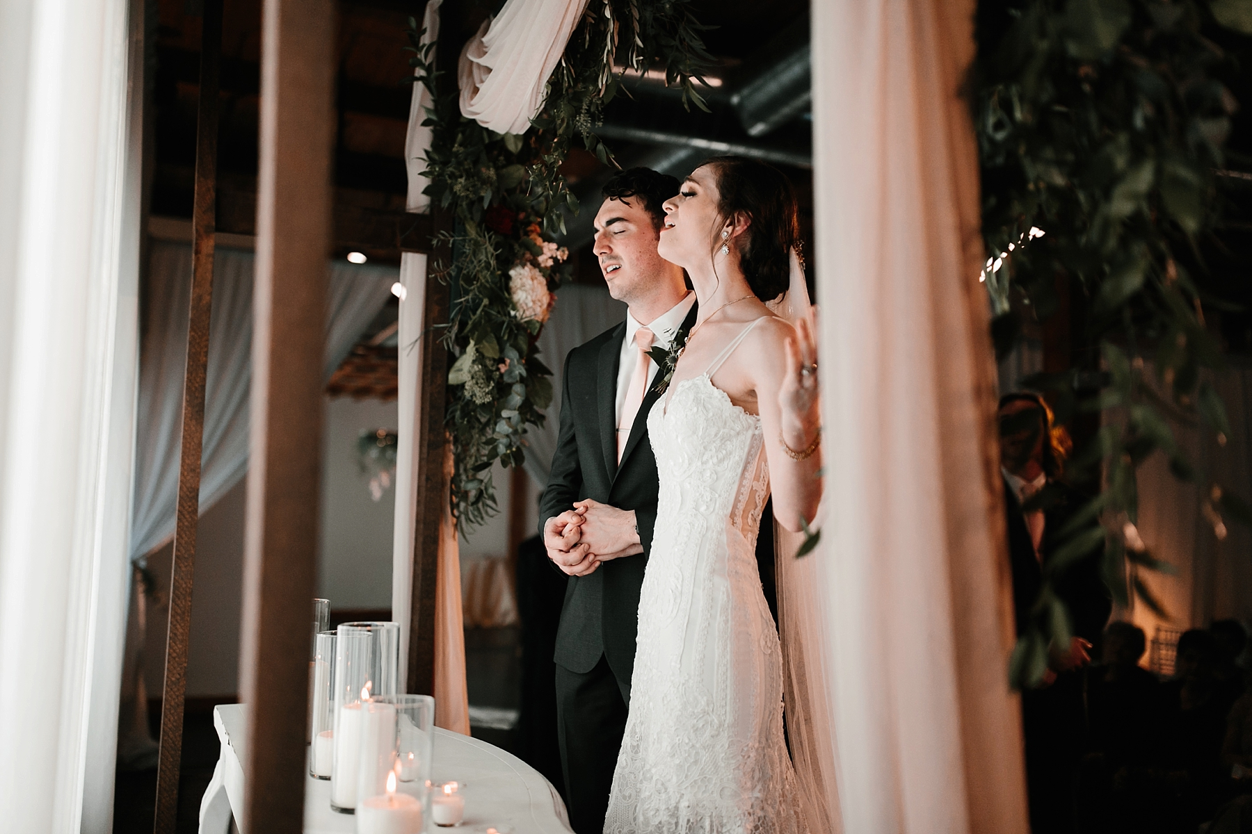 Emily + Caleb _ an elegant, intentional, industrial style wedding with navy + gold accents at 6500 in Dallas, TX by North Texas Wedding Photographer Rachel Meagan Photography _ 095