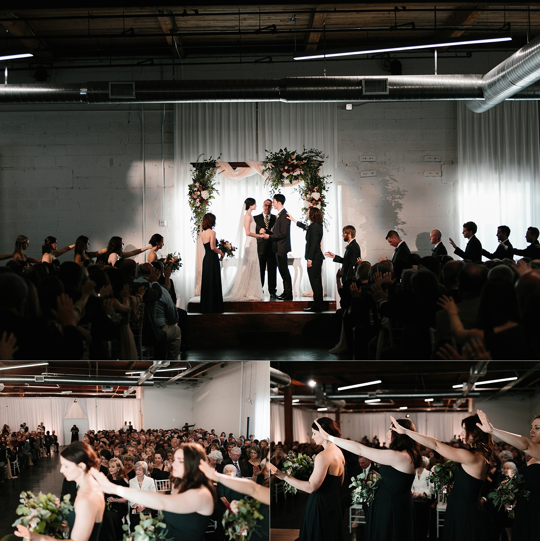 Emily + Caleb _ an elegant, intentional, industrial style wedding with navy + gold accents at 6500 in Dallas, TX by North Texas Wedding Photographer Rachel Meagan Photography _ 097