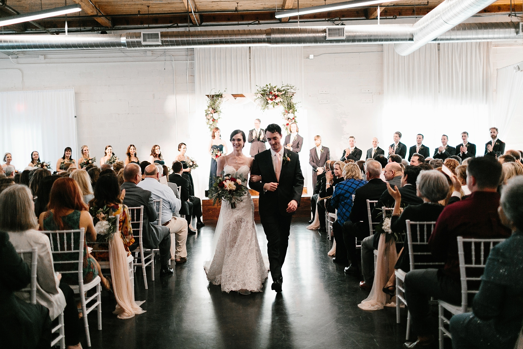 Emily + Caleb _ an elegant, intentional, industrial style wedding with navy + gold accents at 6500 in Dallas, TX by North Texas Wedding Photographer Rachel Meagan Photography _ 100