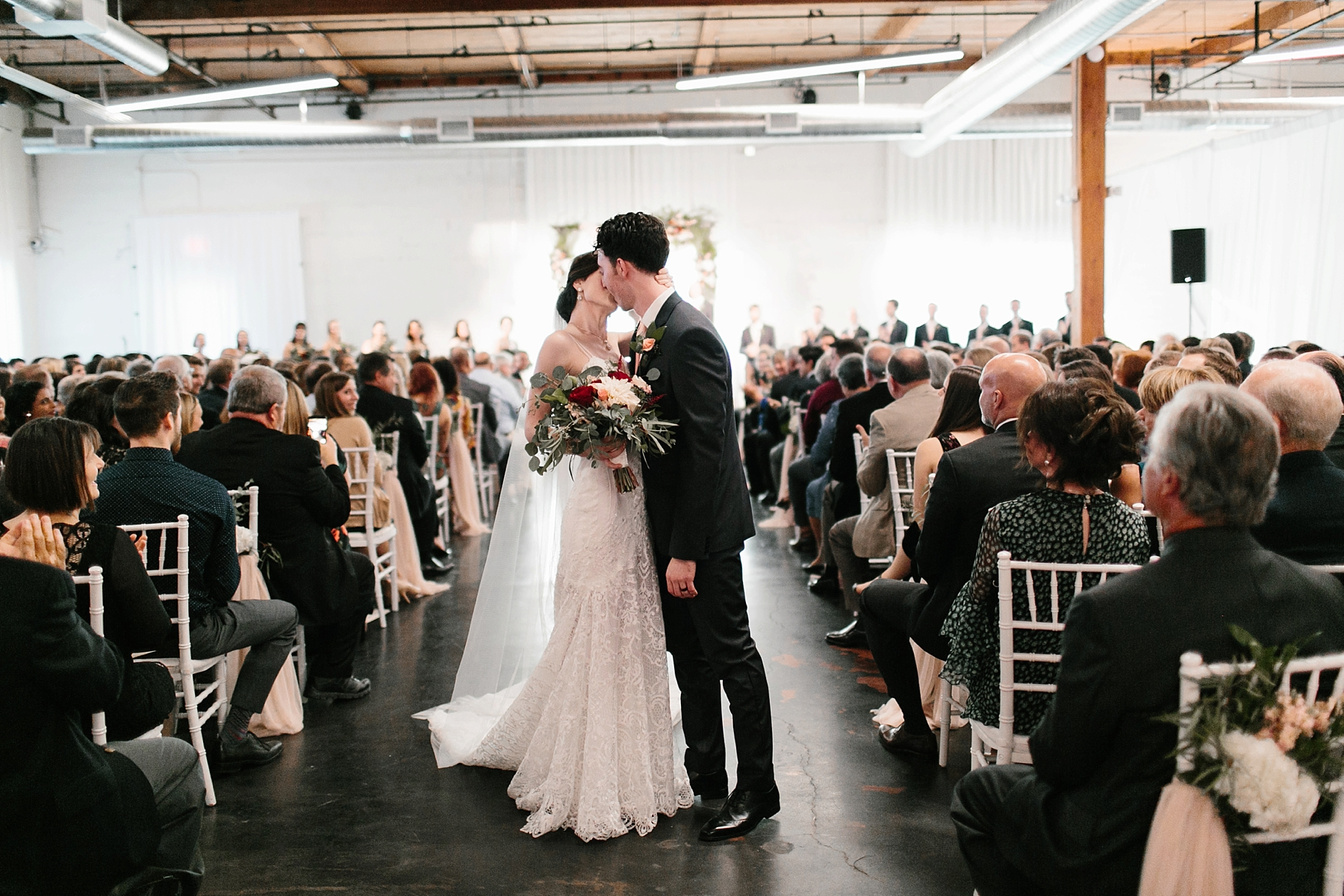 Emily + Caleb _ an elegant, intentional, industrial style wedding with navy + gold accents at 6500 in Dallas, TX by North Texas Wedding Photographer Rachel Meagan Photography _ 101