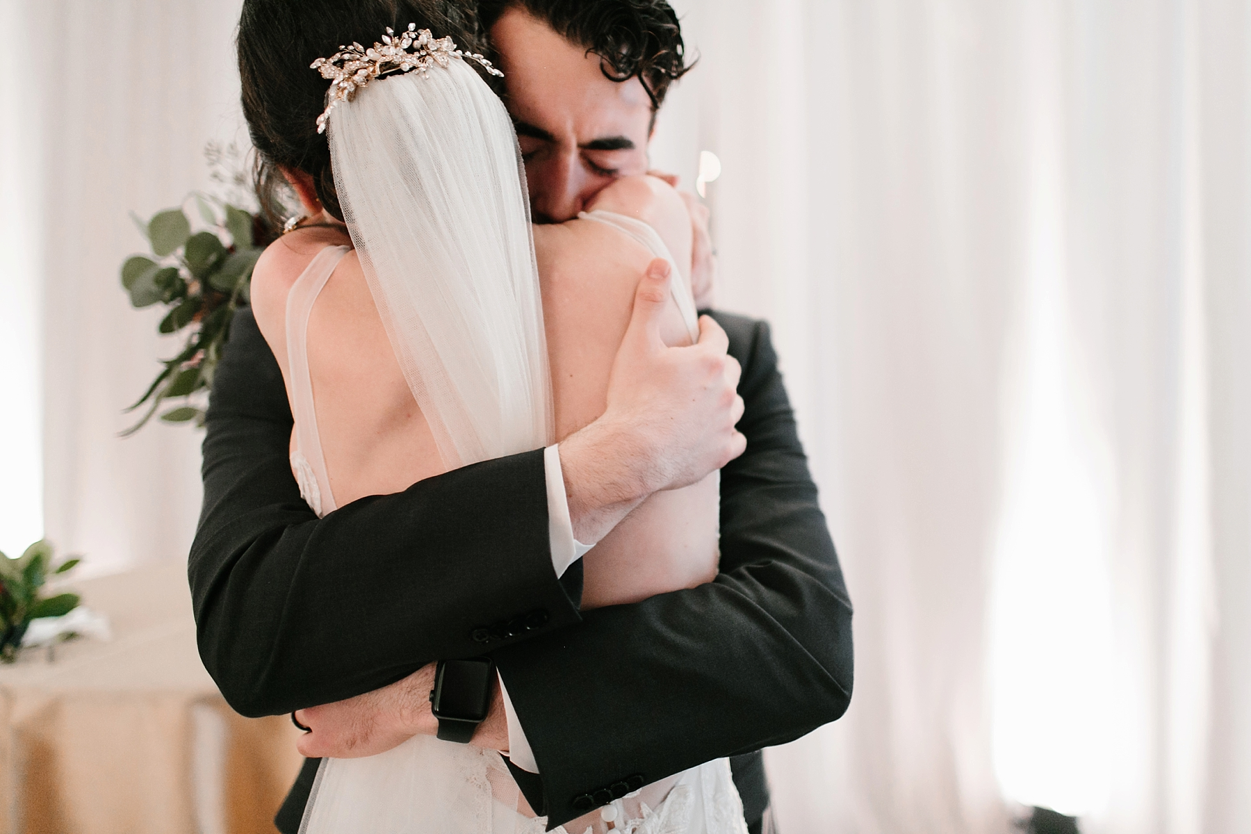 Emily + Caleb _ an elegant, intentional, industrial style wedding with navy + gold accents at 6500 in Dallas, TX by North Texas Wedding Photographer Rachel Meagan Photography _ 105