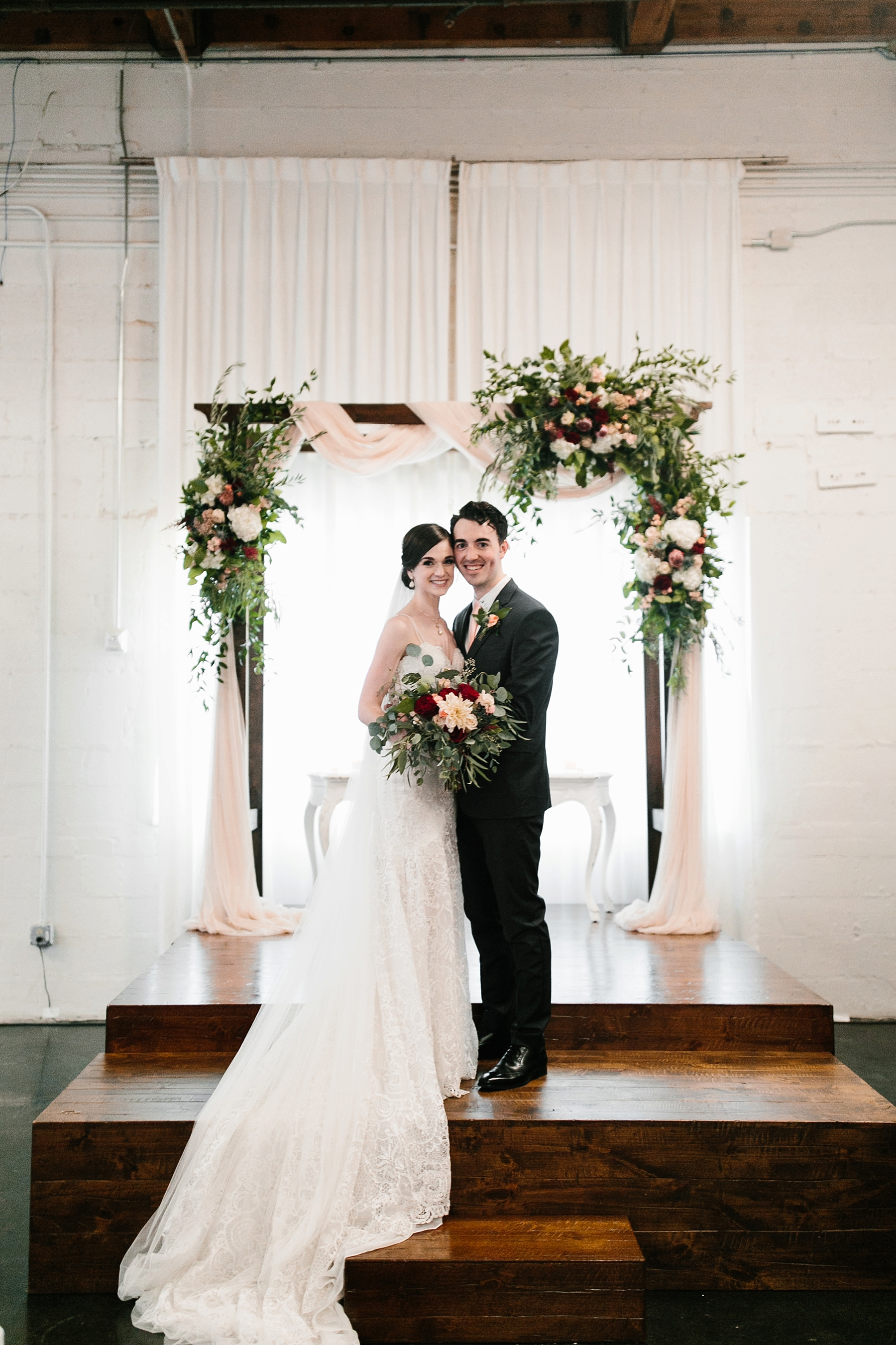 Emily + Caleb _ an elegant, intentional, industrial style wedding with navy + gold accents at 6500 in Dallas, TX by North Texas Wedding Photographer Rachel Meagan Photography _ 110