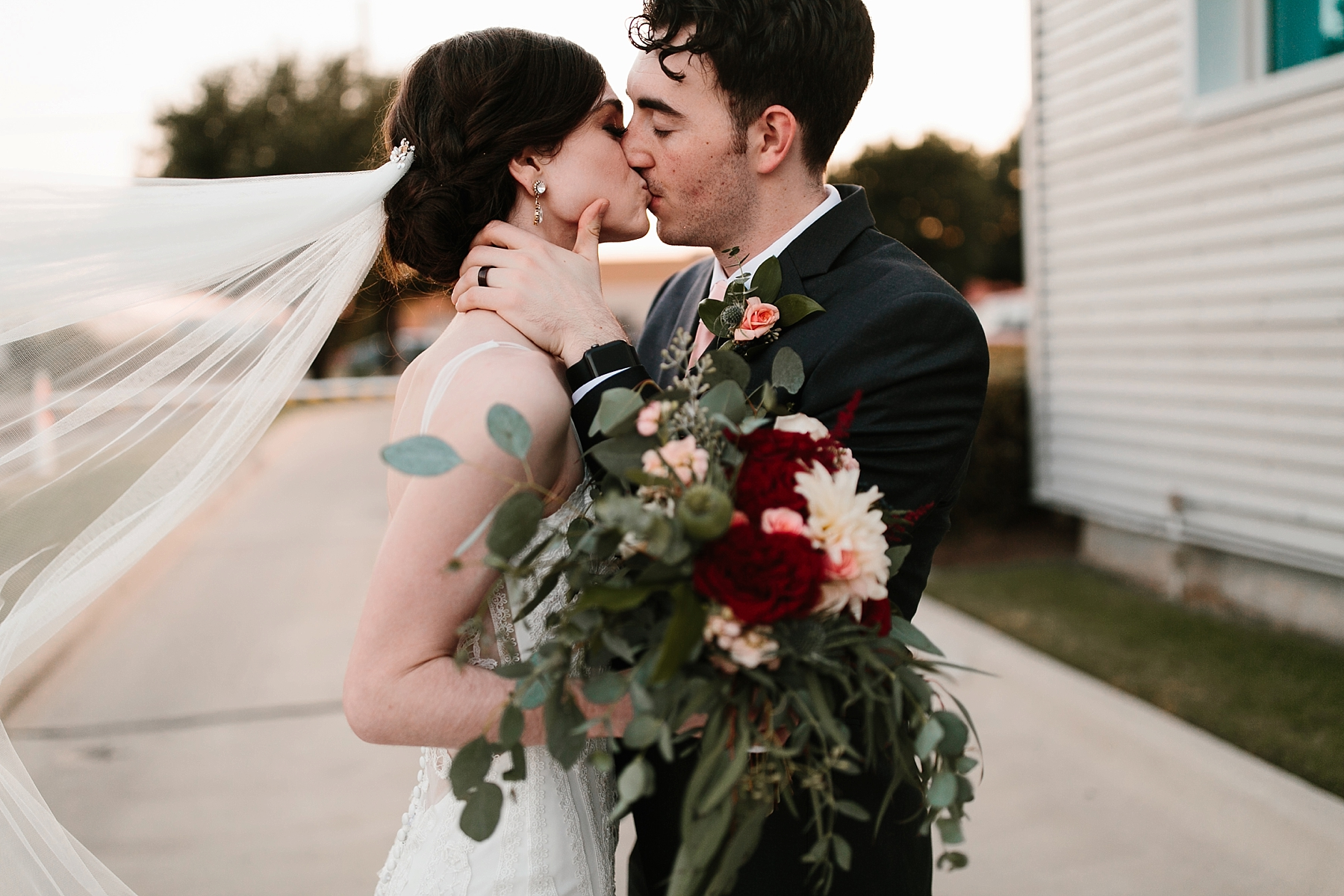 Emily + Caleb _ an elegant, intentional, industrial style wedding with navy + gold accents at 6500 in Dallas, TX by North Texas Wedding Photographer Rachel Meagan Photography _ 114