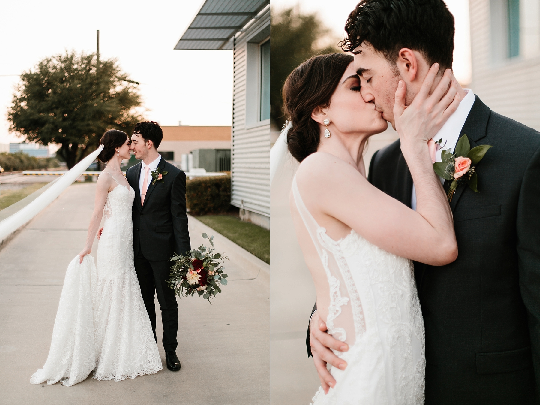 Emily + Caleb _ an elegant, intentional, industrial style wedding with navy + gold accents at 6500 in Dallas, TX by North Texas Wedding Photographer Rachel Meagan Photography _ 119
