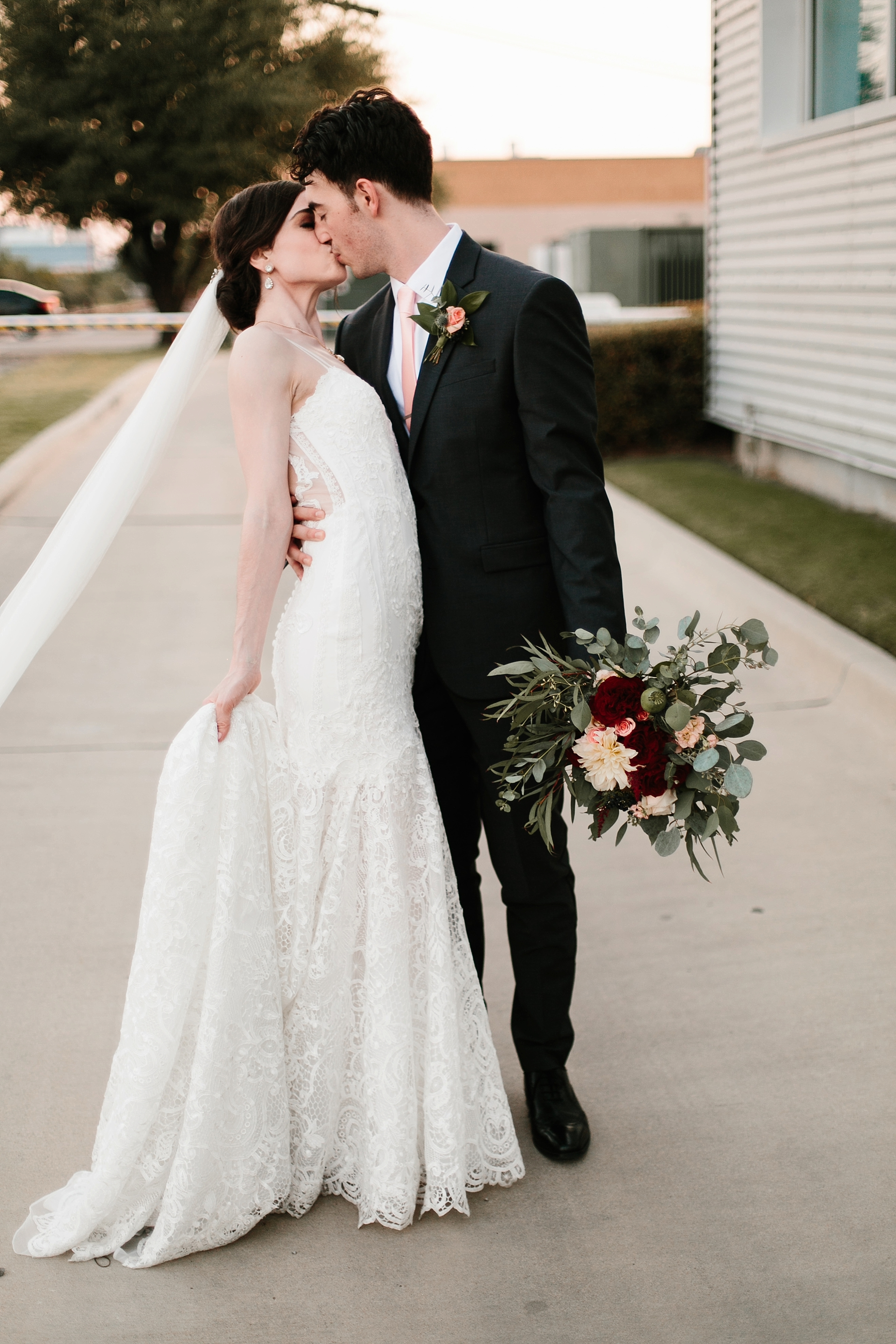 Emily + Caleb _ an elegant, intentional, industrial style wedding with navy + gold accents at 6500 in Dallas, TX by North Texas Wedding Photographer Rachel Meagan Photography _ 120