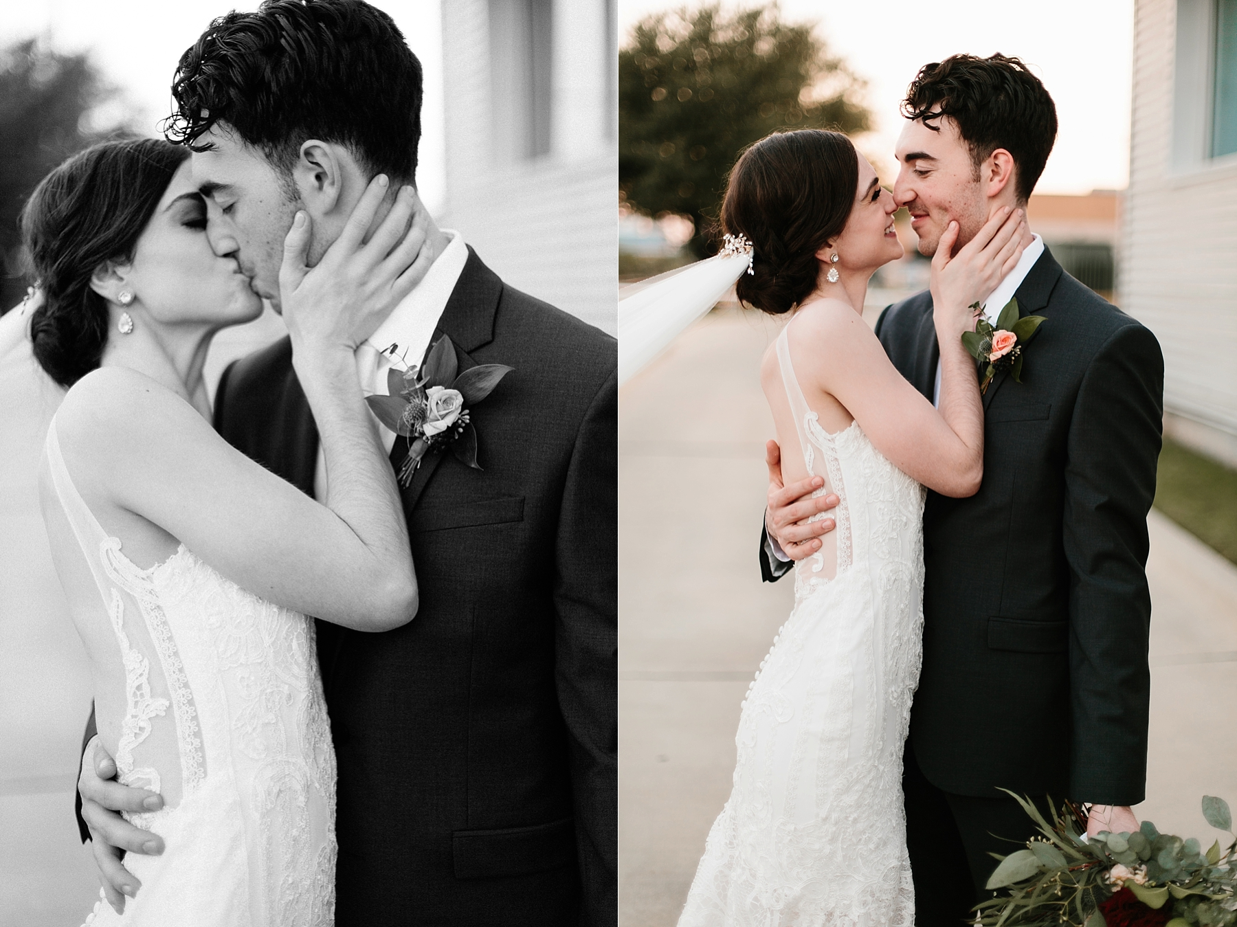 Emily + Caleb _ an elegant, intentional, industrial style wedding with navy + gold accents at 6500 in Dallas, TX by North Texas Wedding Photographer Rachel Meagan Photography _ 121