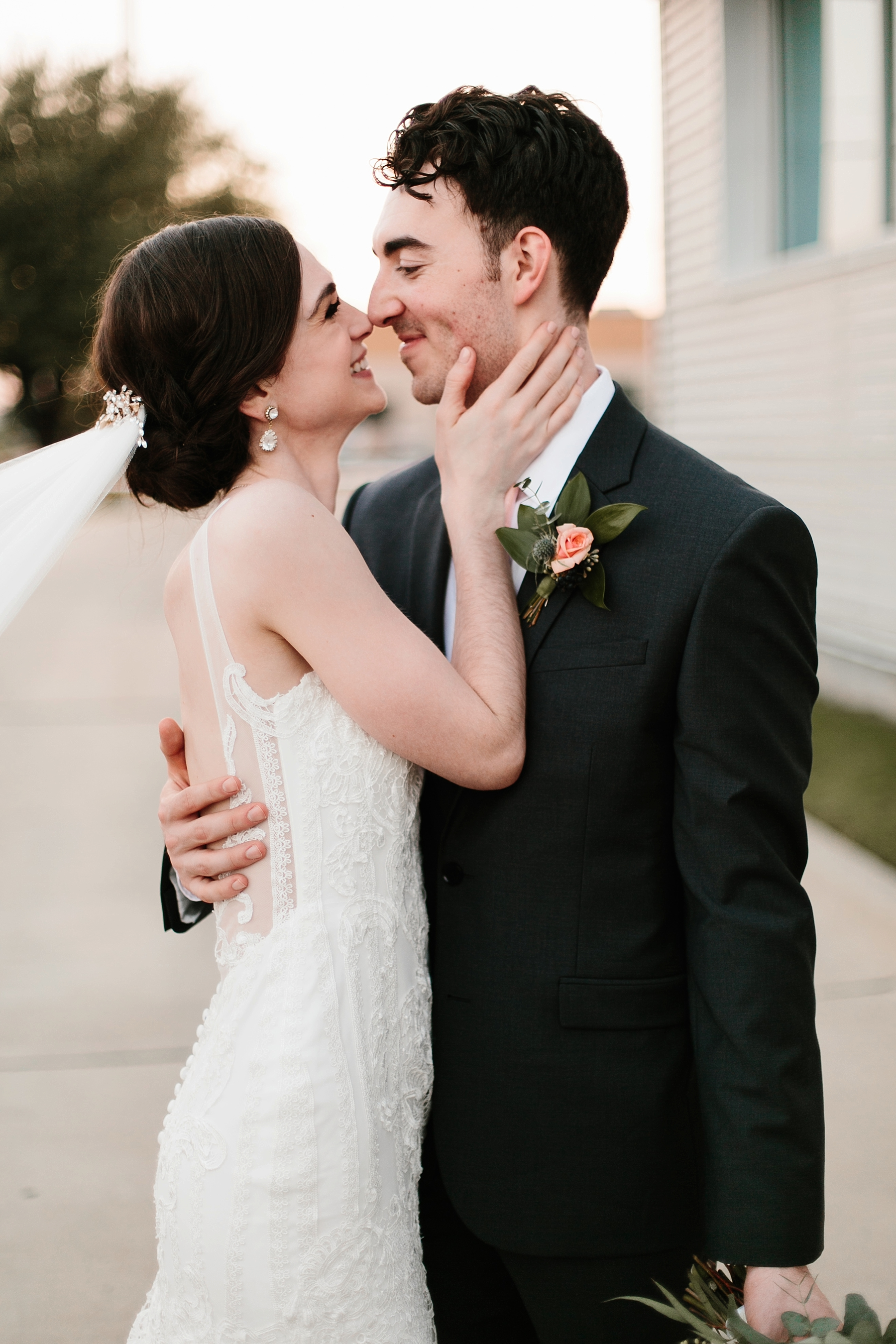 Emily + Caleb _ an elegant, intentional, industrial style wedding with navy + gold accents at 6500 in Dallas, TX by North Texas Wedding Photographer Rachel Meagan Photography _ 122