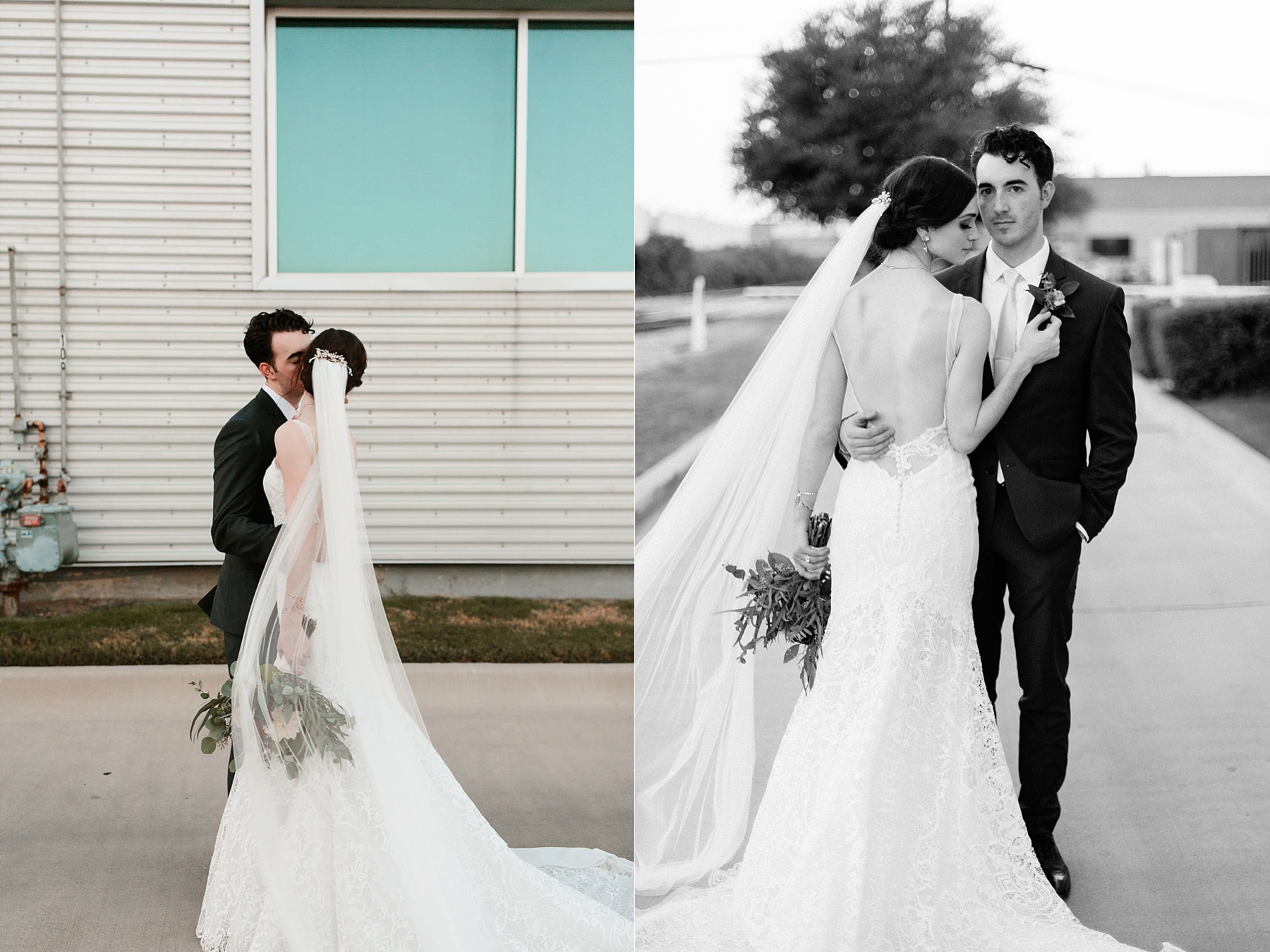 Emily + Caleb _ an elegant, intentional, industrial style wedding with navy + gold accents at 6500 in Dallas, TX by North Texas Wedding Photographer Rachel Meagan Photography _ 125