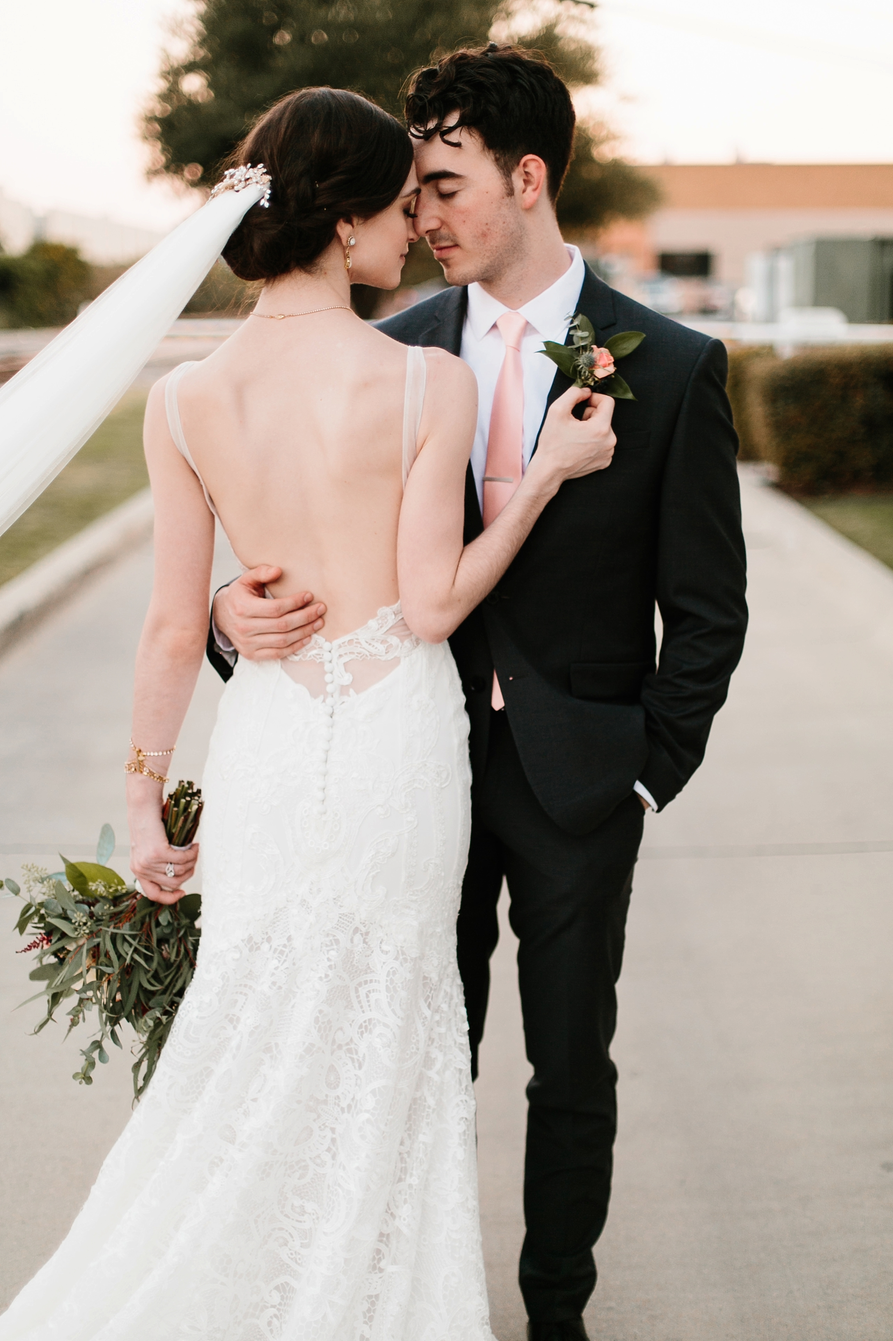 Emily + Caleb _ an elegant, intentional, industrial style wedding with navy + gold accents at 6500 in Dallas, TX by North Texas Wedding Photographer Rachel Meagan Photography _ 127