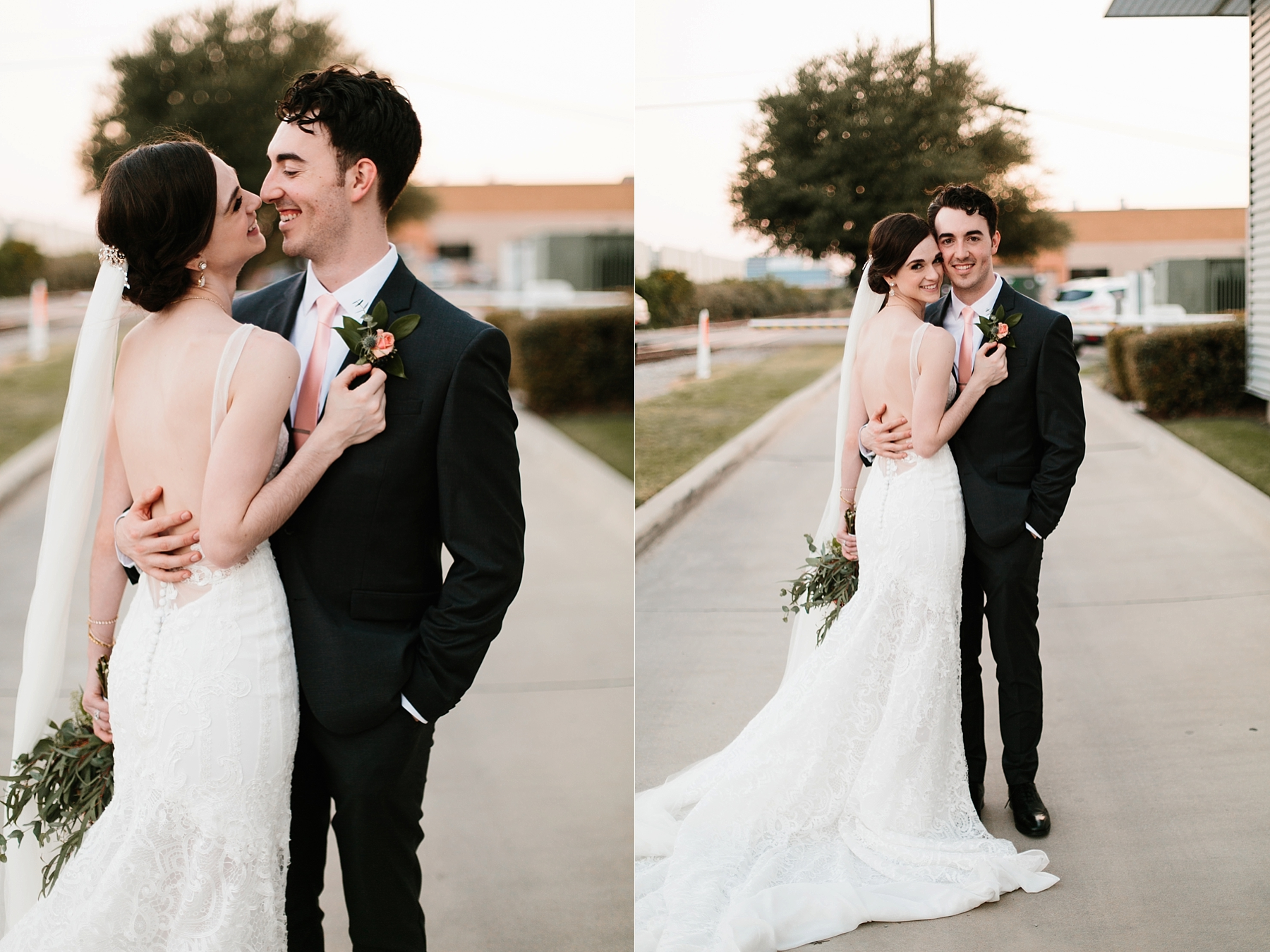 Emily + Caleb _ an elegant, intentional, industrial style wedding with navy + gold accents at 6500 in Dallas, TX by North Texas Wedding Photographer Rachel Meagan Photography _ 129