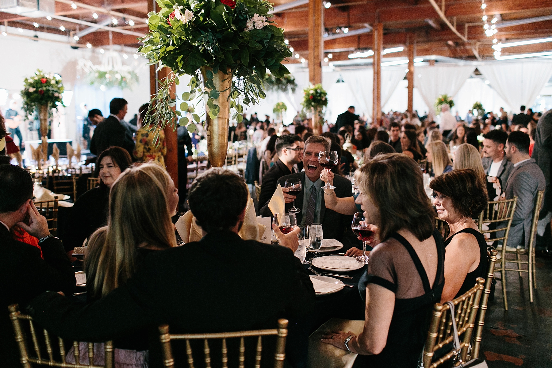 Emily + Caleb _ an elegant, intentional, industrial style wedding with navy + gold accents at 6500 in Dallas, TX by North Texas Wedding Photographer Rachel Meagan Photography _ 131