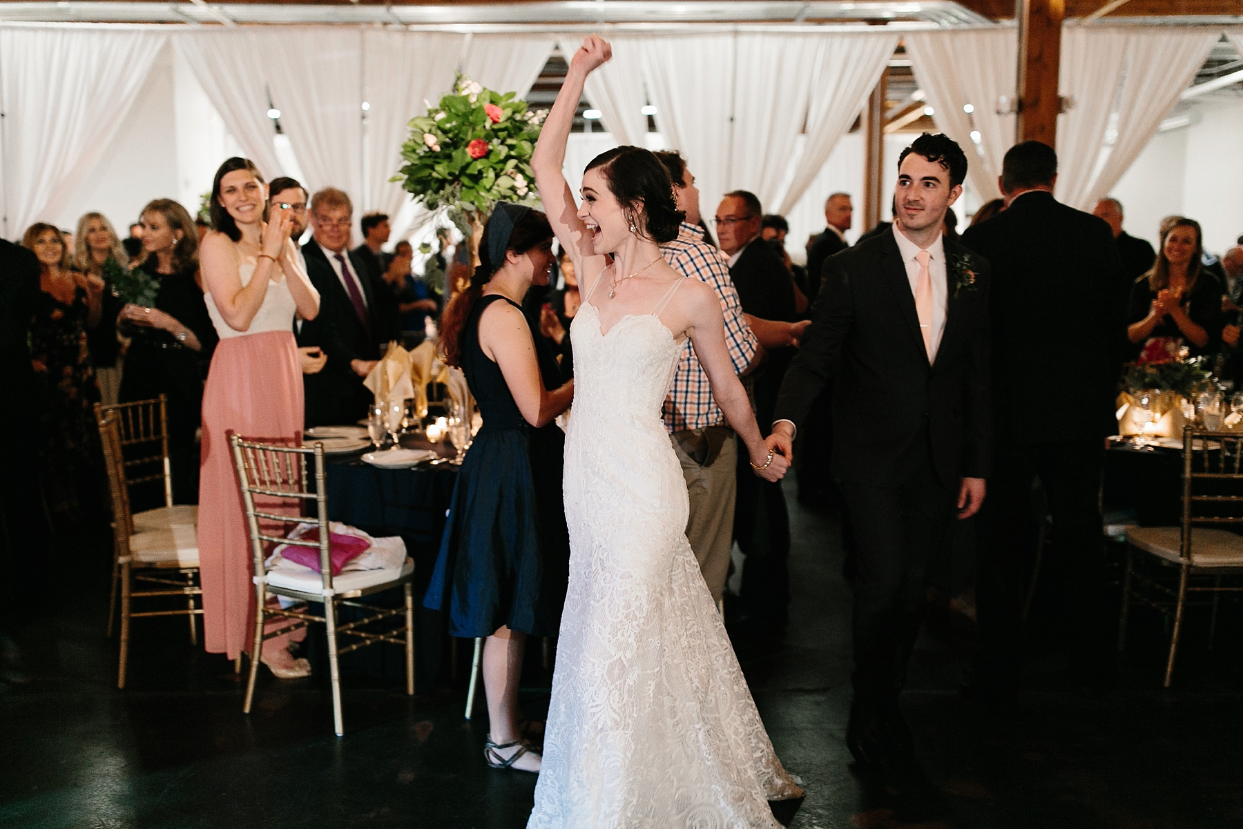 Emily + Caleb _ an elegant, intentional, industrial style wedding with navy + gold accents at 6500 in Dallas, TX by North Texas Wedding Photographer Rachel Meagan Photography _ 133
