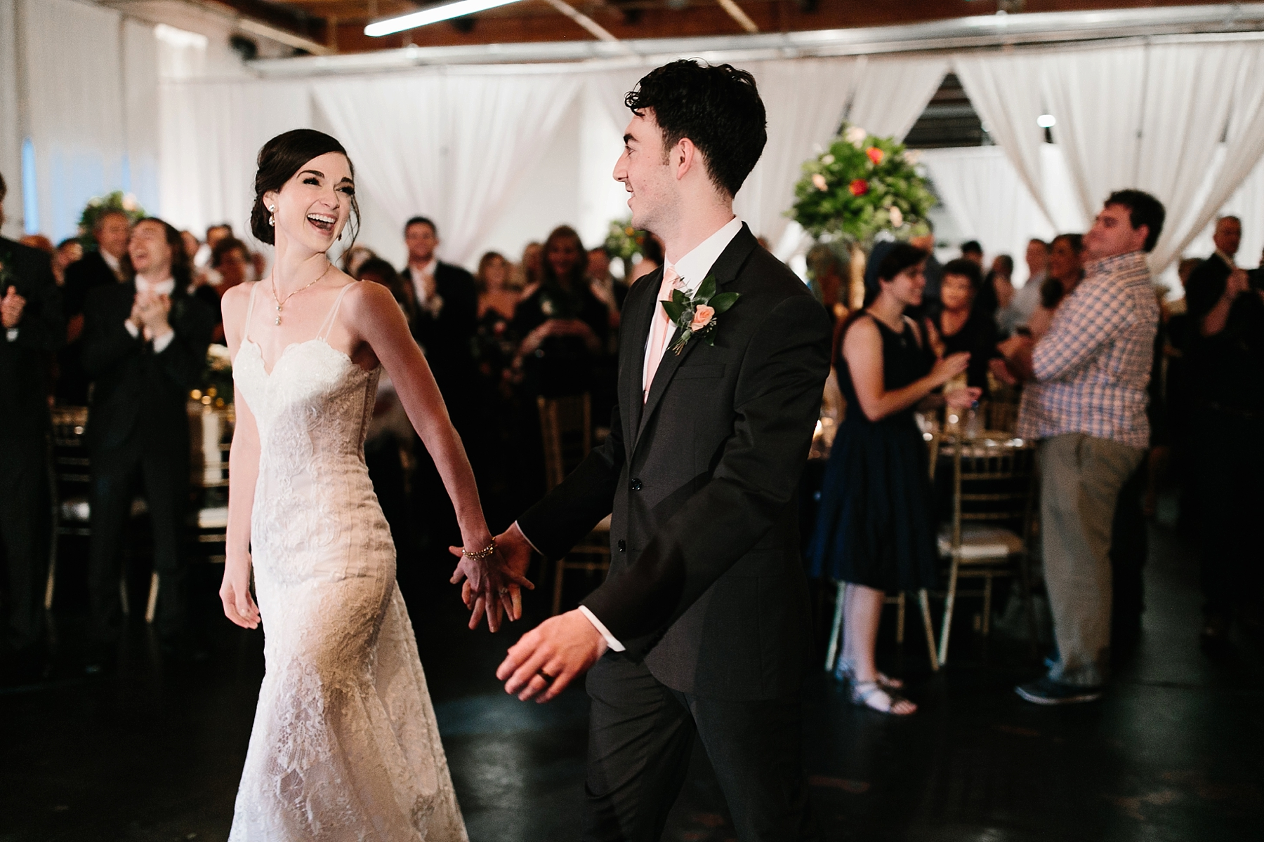 Emily + Caleb _ an elegant, intentional, industrial style wedding with navy + gold accents at 6500 in Dallas, TX by North Texas Wedding Photographer Rachel Meagan Photography _ 134