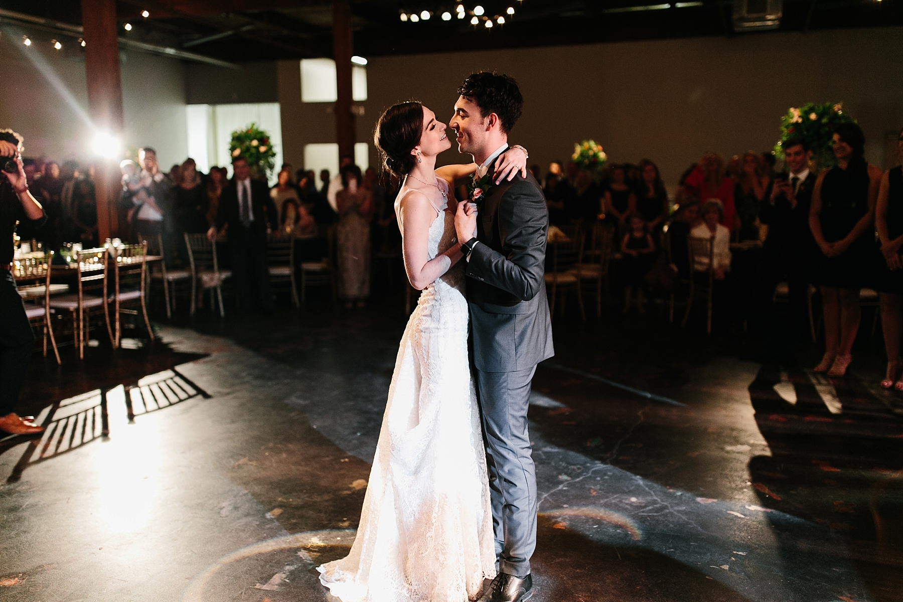 Emily + Caleb _ an elegant, intentional, industrial style wedding with navy + gold accents at 6500 in Dallas, TX by North Texas Wedding Photographer Rachel Meagan Photography _ 136