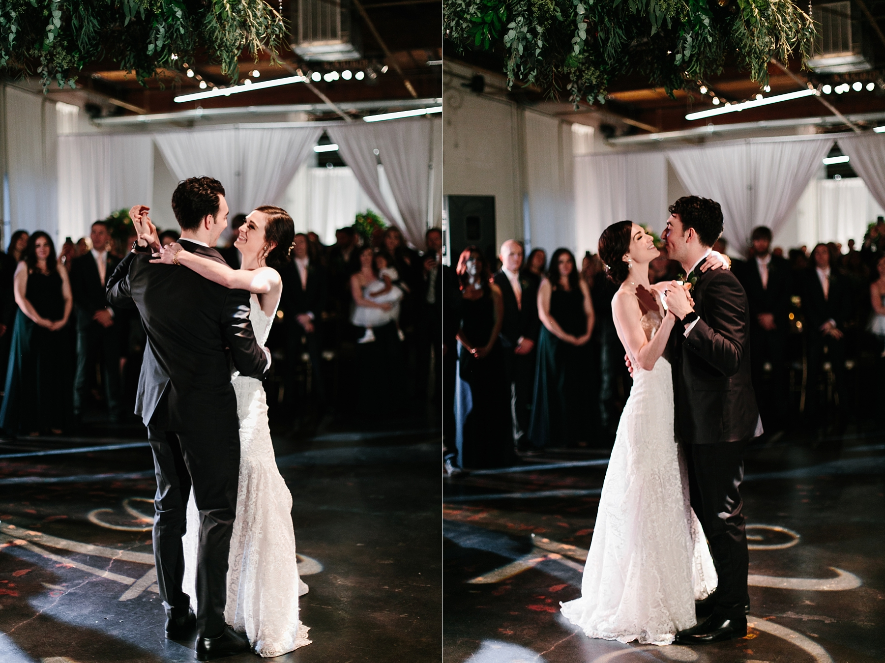 Emily + Caleb _ an elegant, intentional, industrial style wedding with navy + gold accents at 6500 in Dallas, TX by North Texas Wedding Photographer Rachel Meagan Photography _ 137