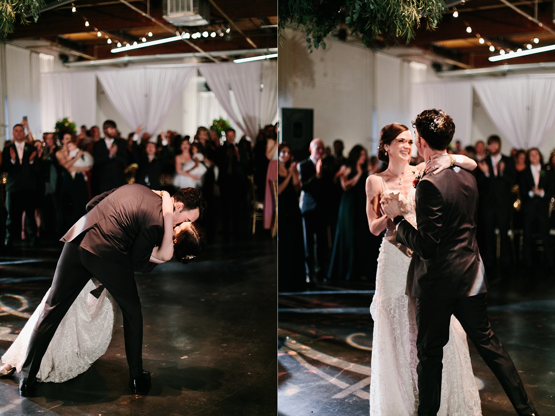 Emily + Caleb _ an elegant, intentional, industrial style wedding with navy + gold accents at 6500 in Dallas, TX by North Texas Wedding Photographer Rachel Meagan Photography _ 139