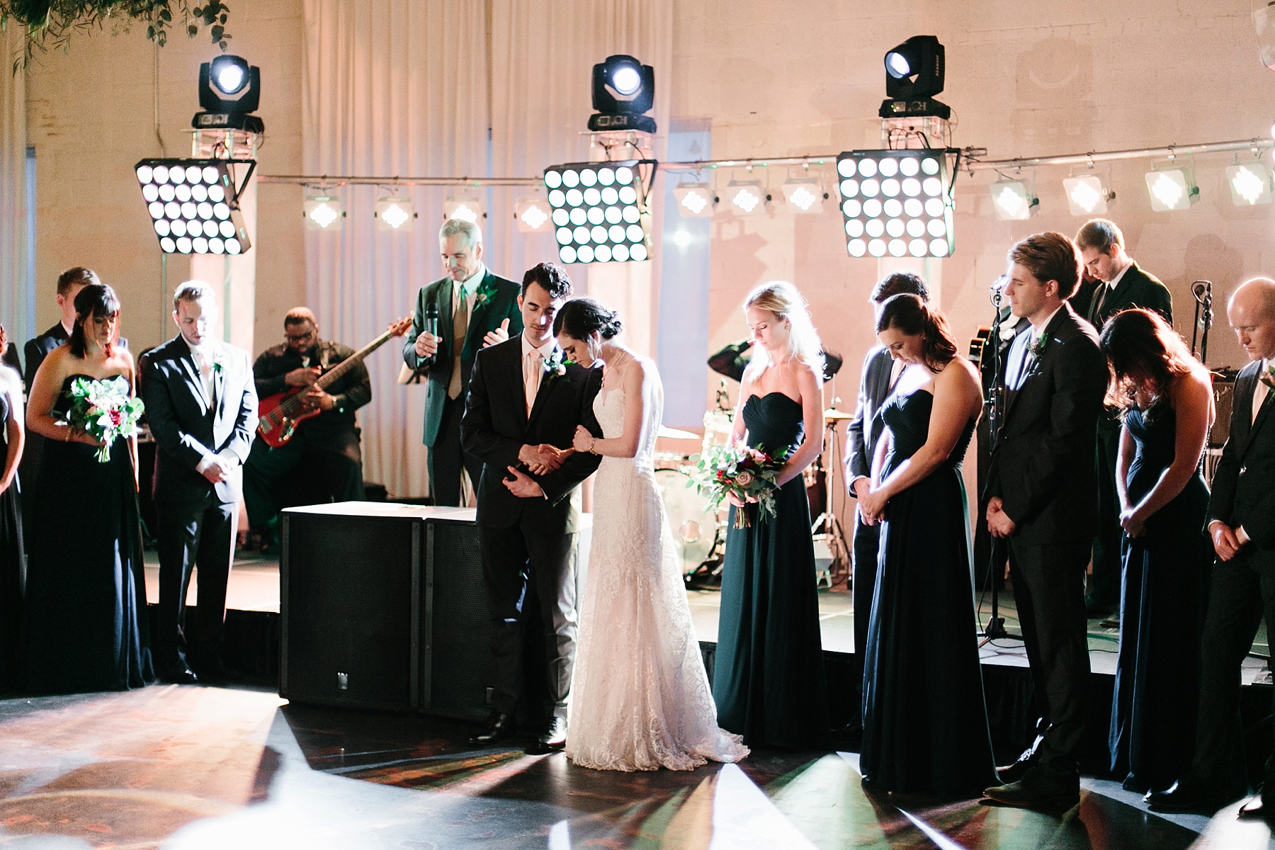 Emily + Caleb _ an elegant, intentional, industrial style wedding with navy + gold accents at 6500 in Dallas, TX by North Texas Wedding Photographer Rachel Meagan Photography _ 142