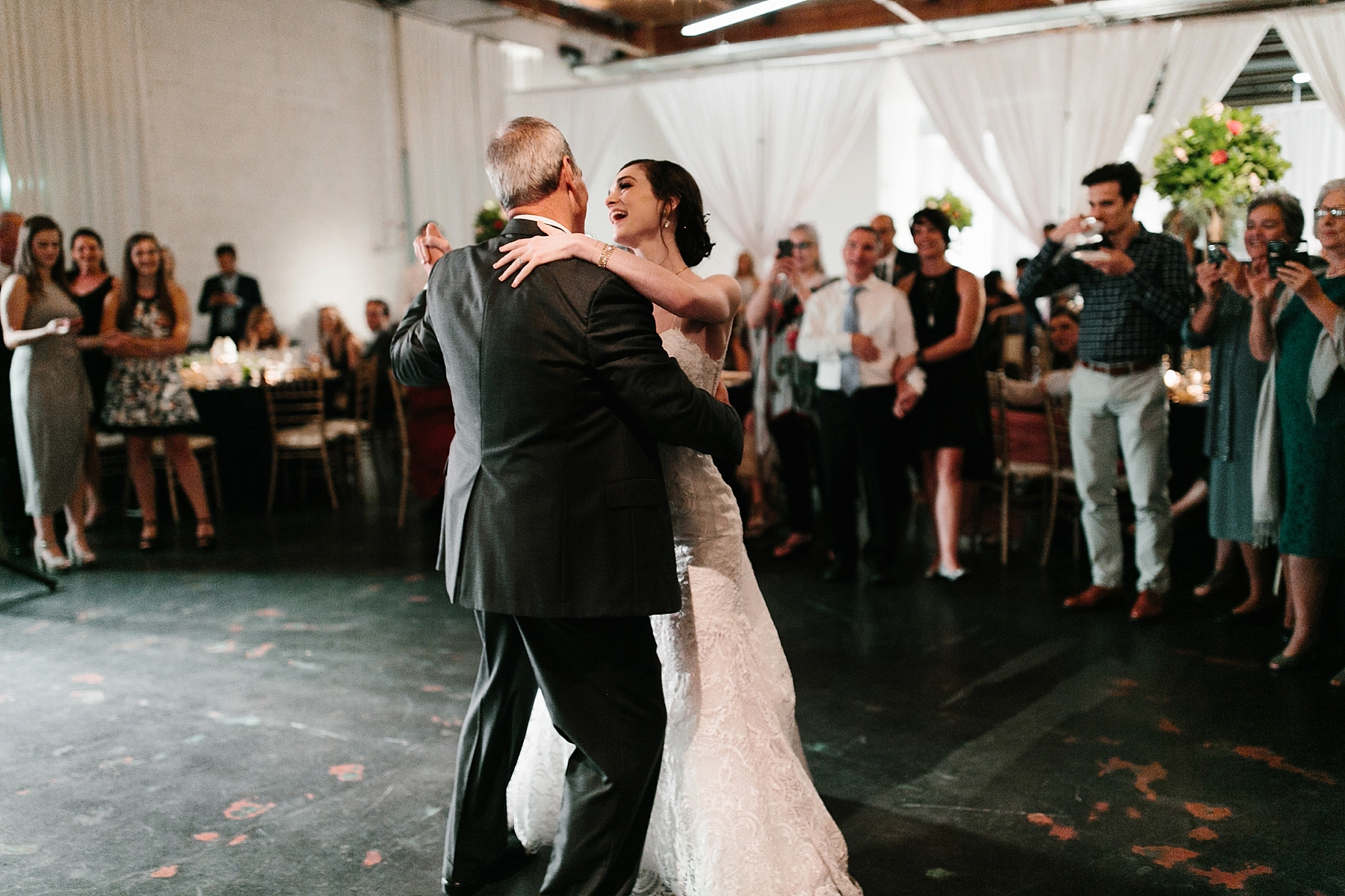 Emily + Caleb _ an elegant, intentional, industrial style wedding with navy + gold accents at 6500 in Dallas, TX by North Texas Wedding Photographer Rachel Meagan Photography _ 146
