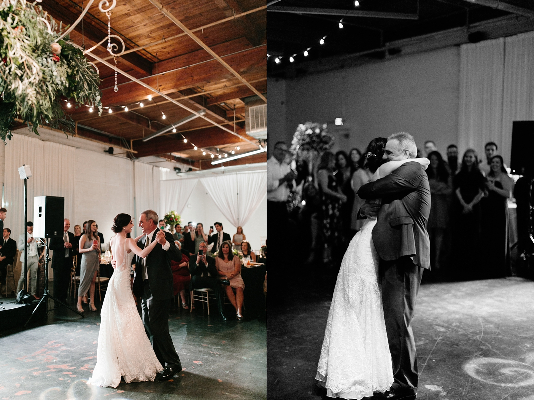 Emily + Caleb _ an elegant, intentional, industrial style wedding with navy + gold accents at 6500 in Dallas, TX by North Texas Wedding Photographer Rachel Meagan Photography _ 147