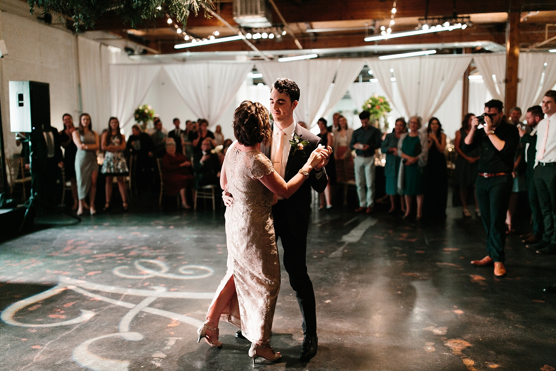 Emily + Caleb _ an elegant, intentional, industrial style wedding with navy + gold accents at 6500 in Dallas, TX by North Texas Wedding Photographer Rachel Meagan Photography _ 152