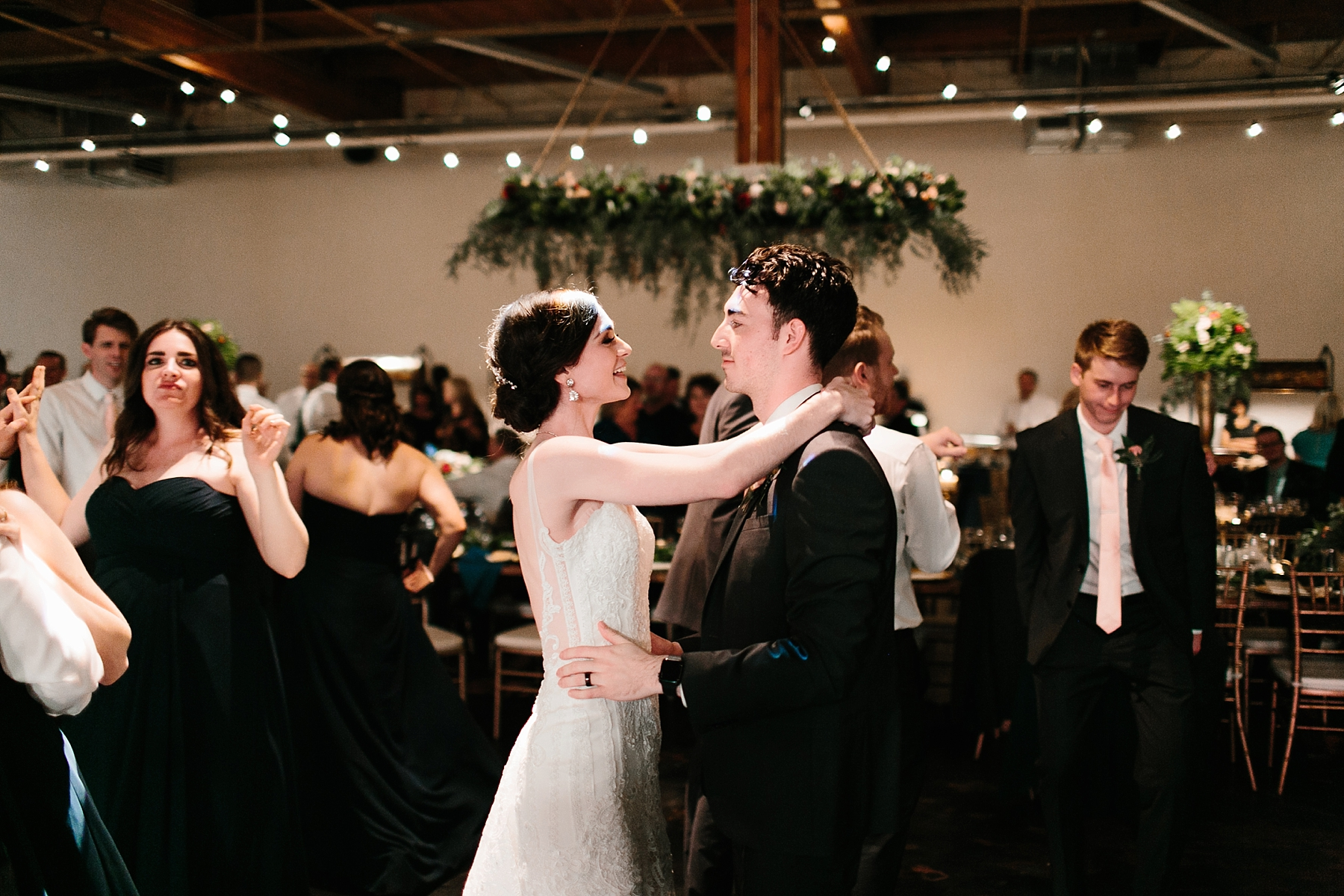 Emily + Caleb _ an elegant, intentional, industrial style wedding with navy + gold accents at 6500 in Dallas, TX by North Texas Wedding Photographer Rachel Meagan Photography _ 154