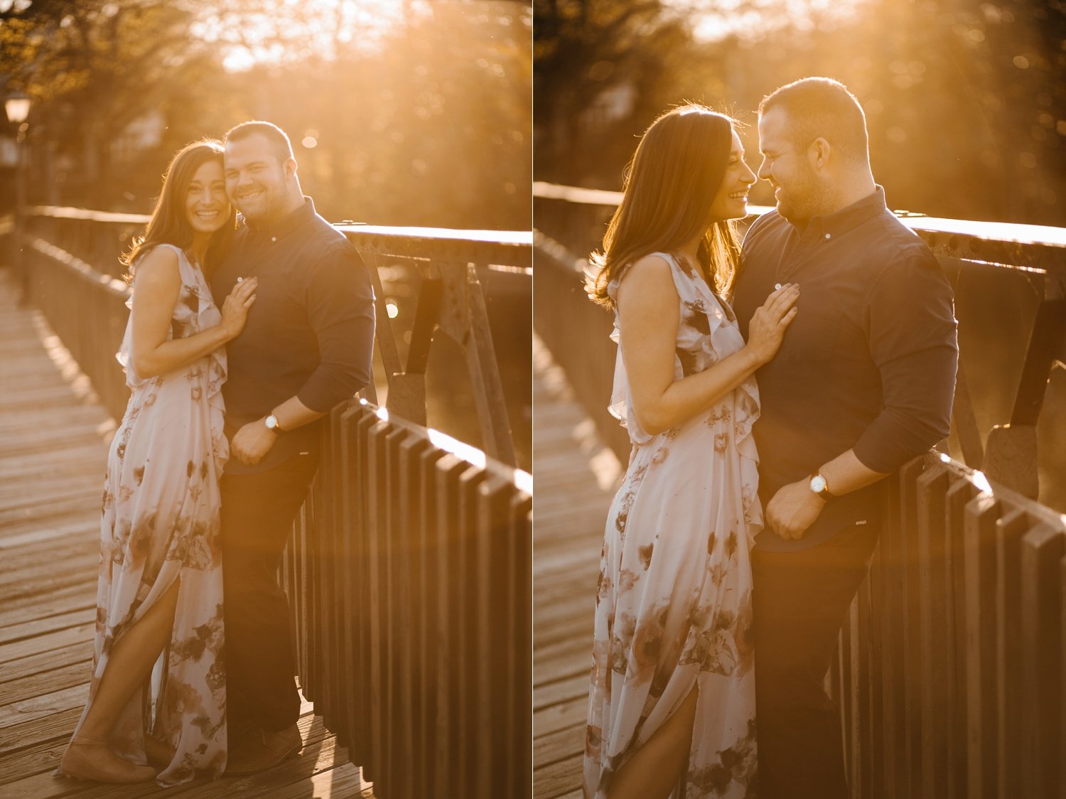 Kadee + Tyler _ a forest and city skyline engagement shoot in Dallas by North Texas Wedding Photographer Rachel Meagan Photography_40