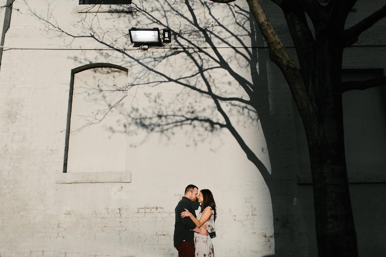 Kadee + Tyler _ a forest and city skyline engagement shoot in Dallas by North Texas Wedding Photographer Rachel Meagan Photography_41