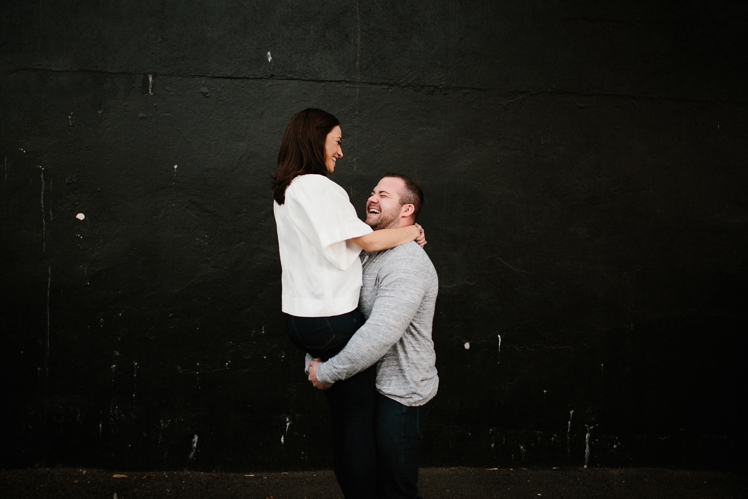 Kadee + Tyler _ a forest and city skyline engagement shoot in Dallas by North Texas Wedding Photographer Rachel Meagan Photography_50