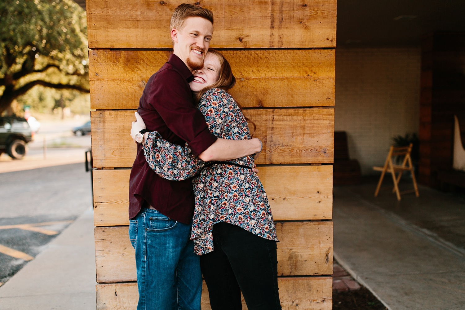 Kayla + Alex _ a joyful and loving engagement shoot in Waco, Texas by North Texas Wedding Photographer Rachel Meagan Photography _07