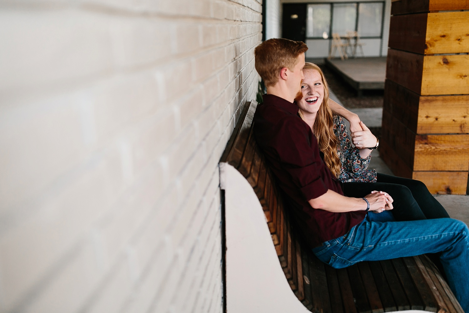 Kayla + Alex _ a joyful and loving engagement shoot in Waco, Texas by North Texas Wedding Photographer Rachel Meagan Photography _10