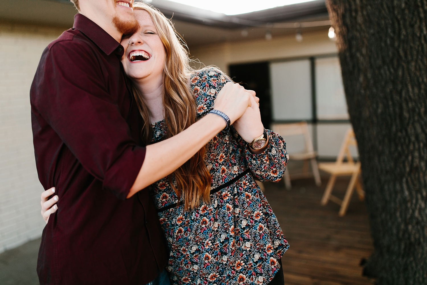 Kayla + Alex _ a joyful and loving engagement shoot in Waco, Texas by North Texas Wedding Photographer Rachel Meagan Photography _14